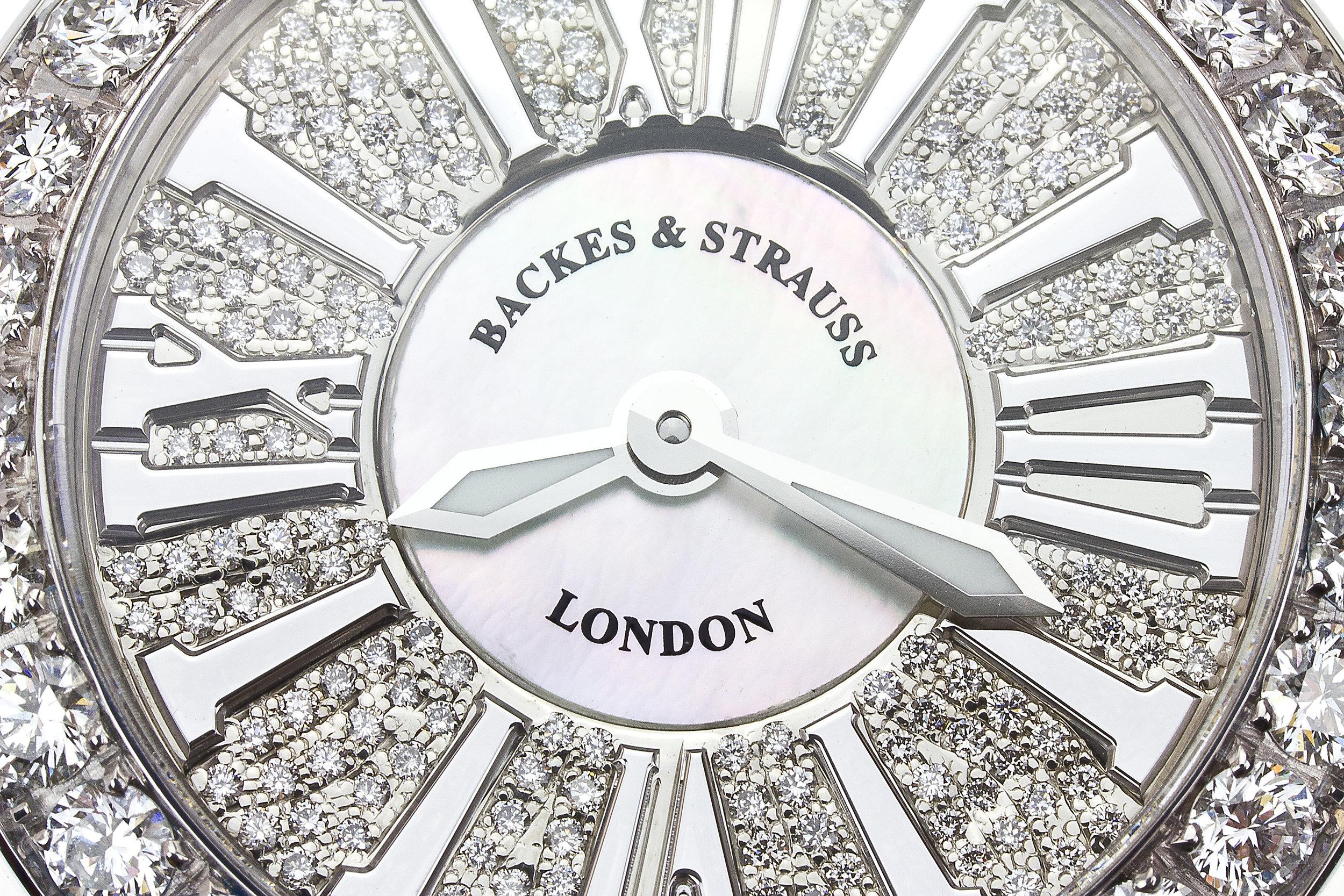 Piccadilly Princess 37 dial close up diamond watch