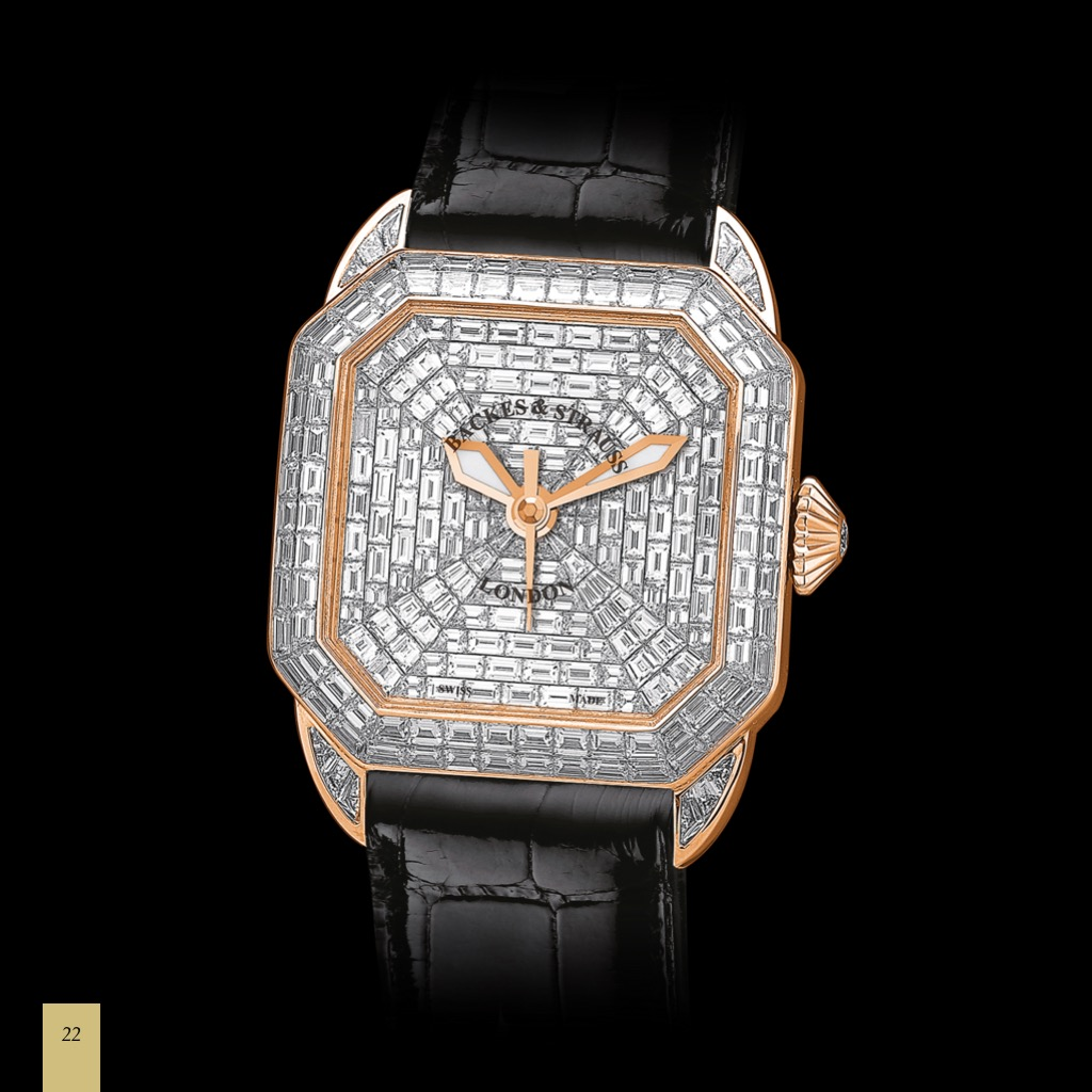 Berkeley Prince 43 diamond watch