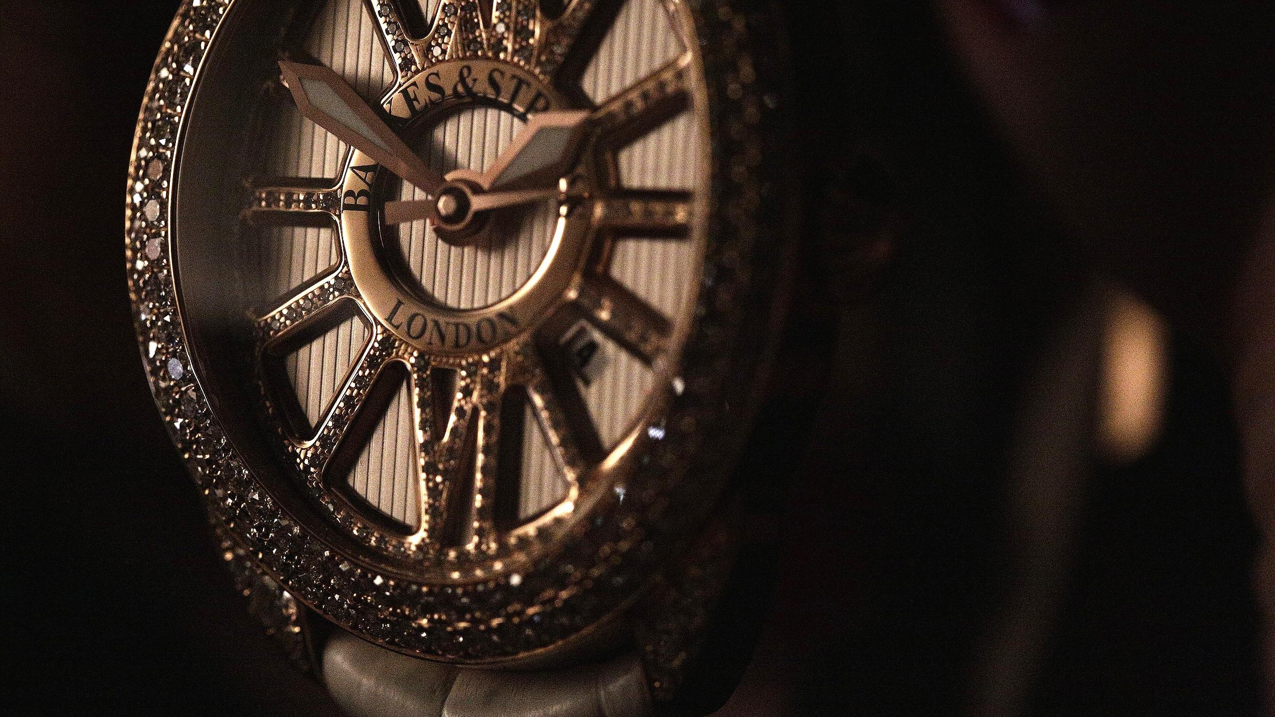Regent Diamond time 4047 diamond watch