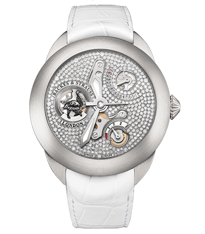 Earl of Strauss Brilliant diamond watch
