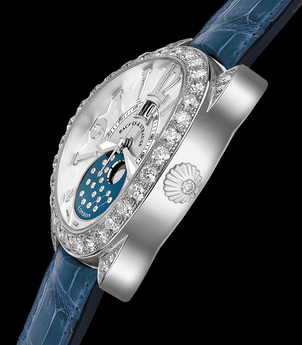 Regent 1609 AD 4047 limited edition diamond watch side-shot