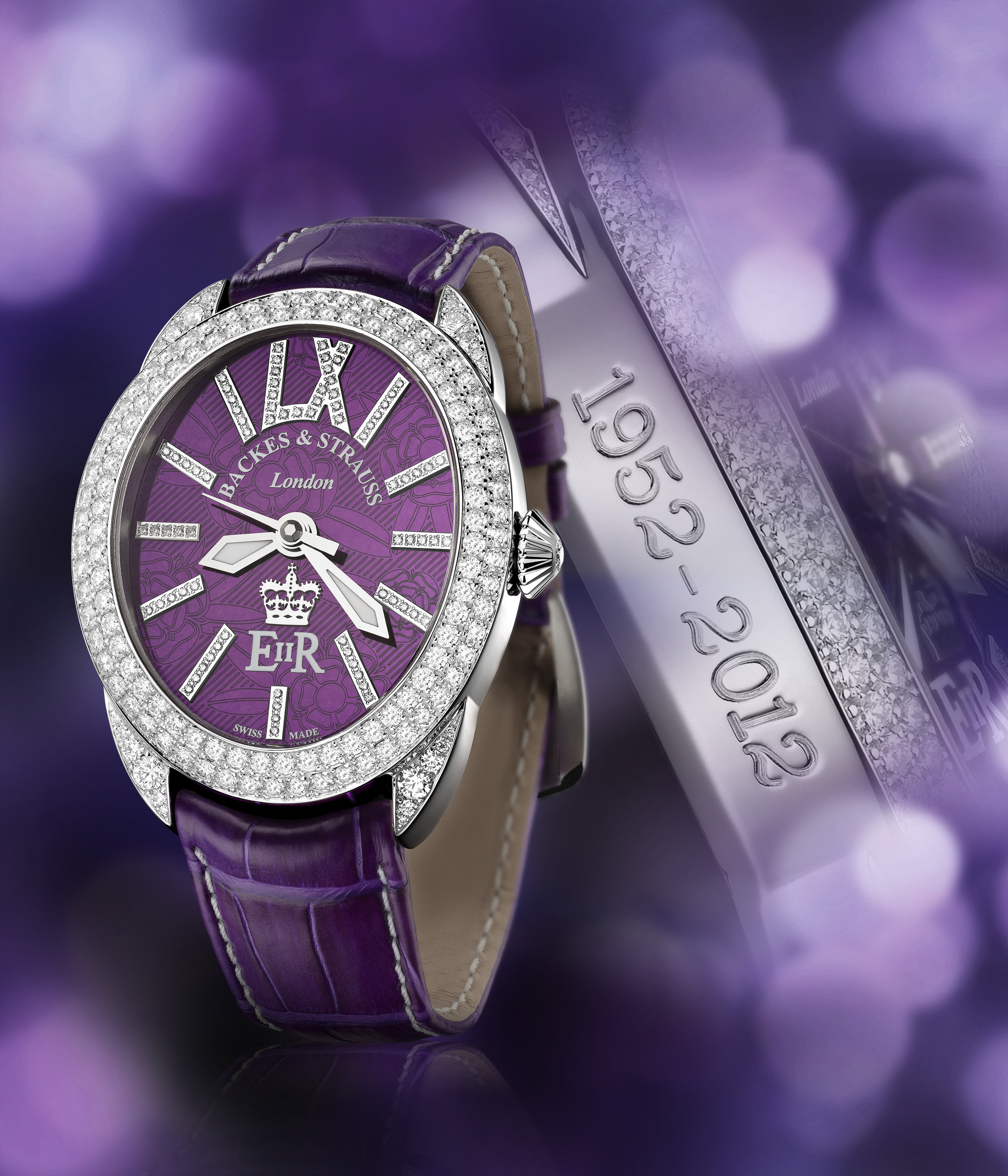 Regent Diamond Jubilee 4047 limited edition watch