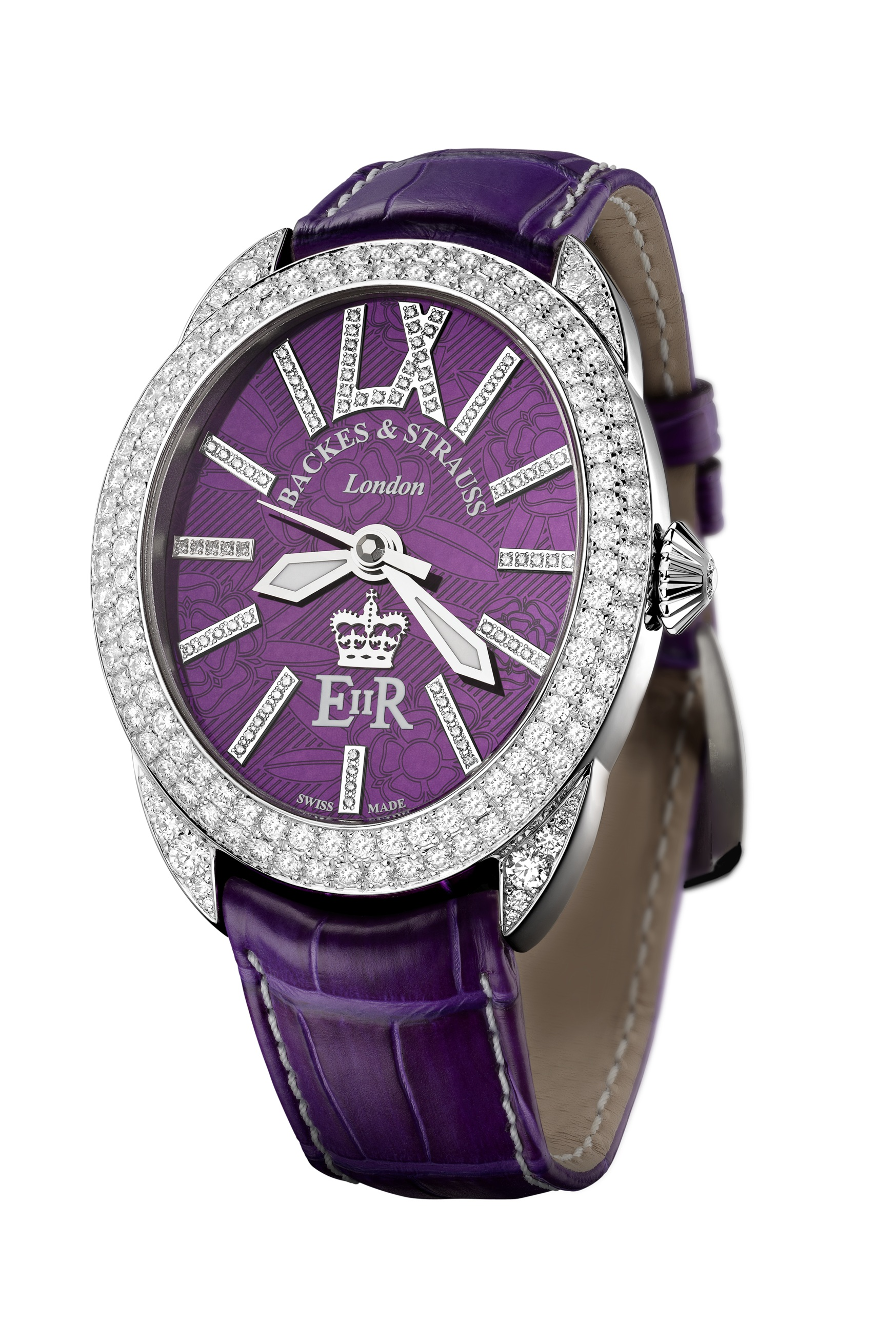 Regent Diamond Jubilee 4047 limited edition watch side-shot