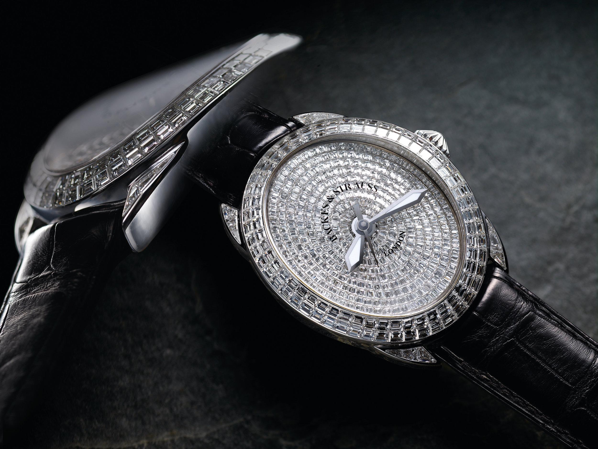 Regent Prince 4452 iconic diamond encrusted watch