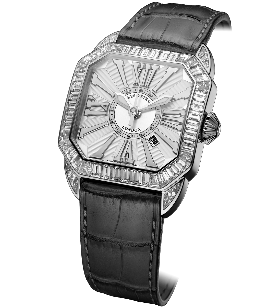 Berkeley Baguette 40 diamond watch