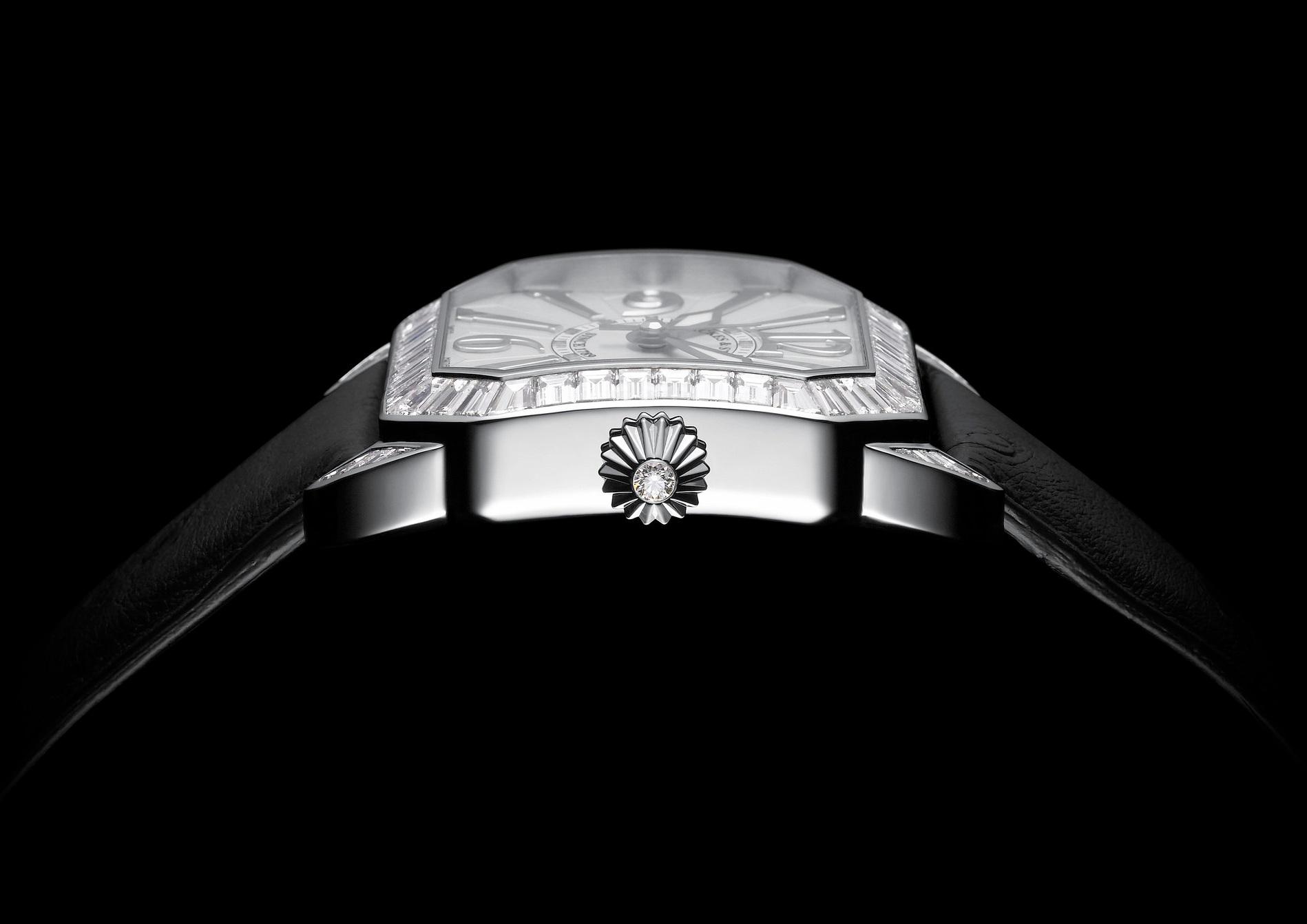 Berkeley Baguette 40 diamond watch side-shot 2