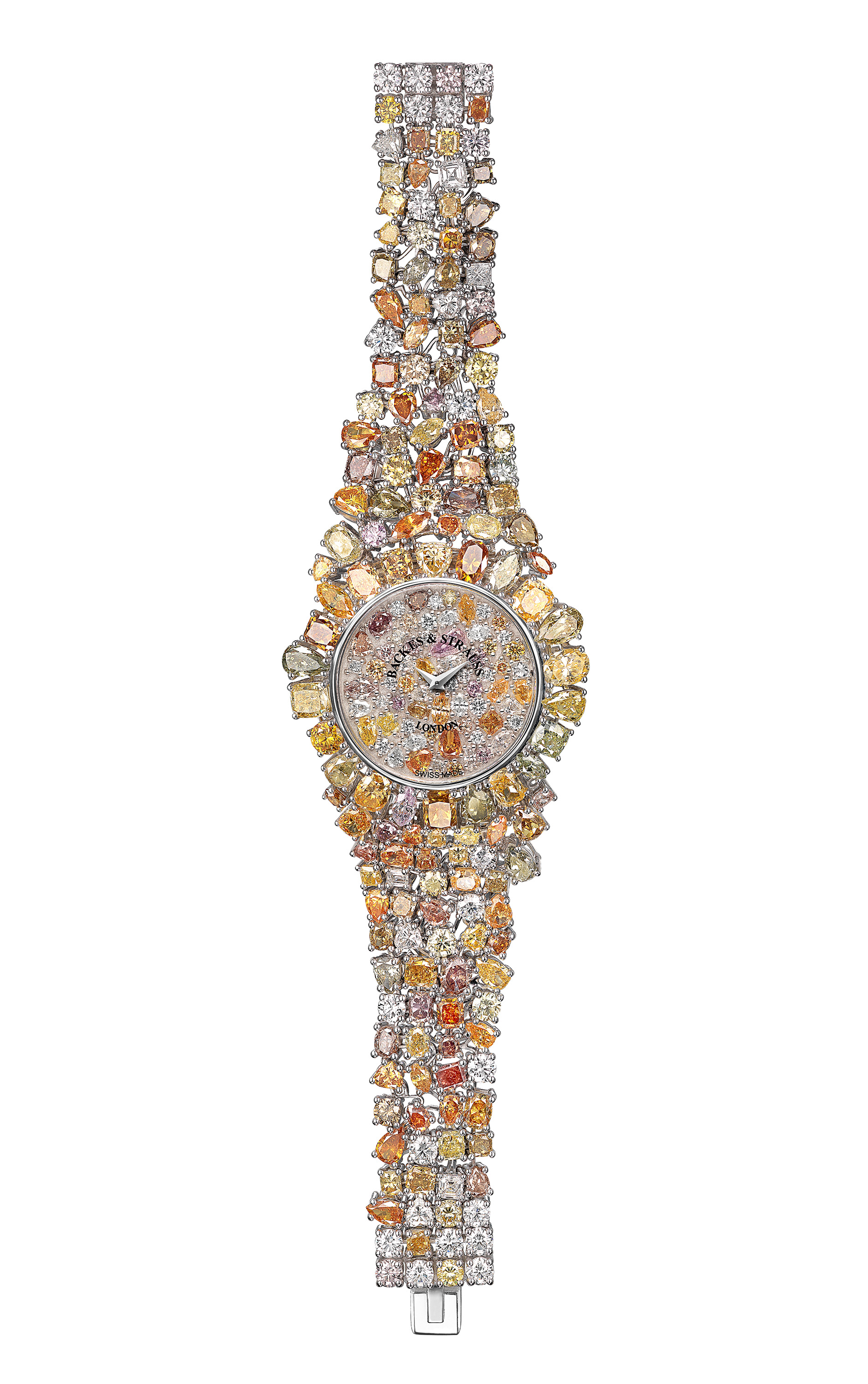 Piccadilly Princess Royal Colours luxury diamond watch