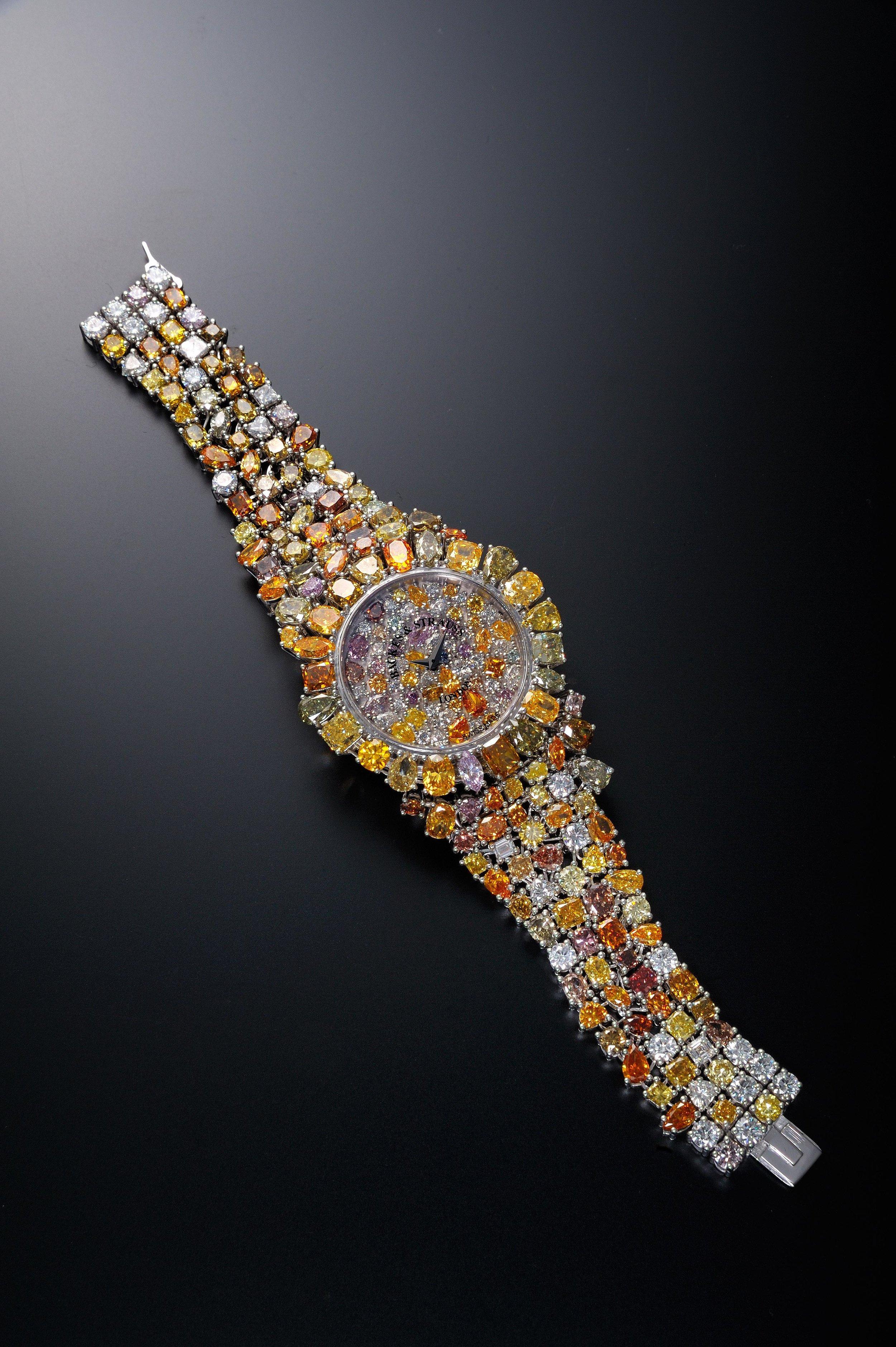 Piccadilly Princess Royal Colours diamond watch