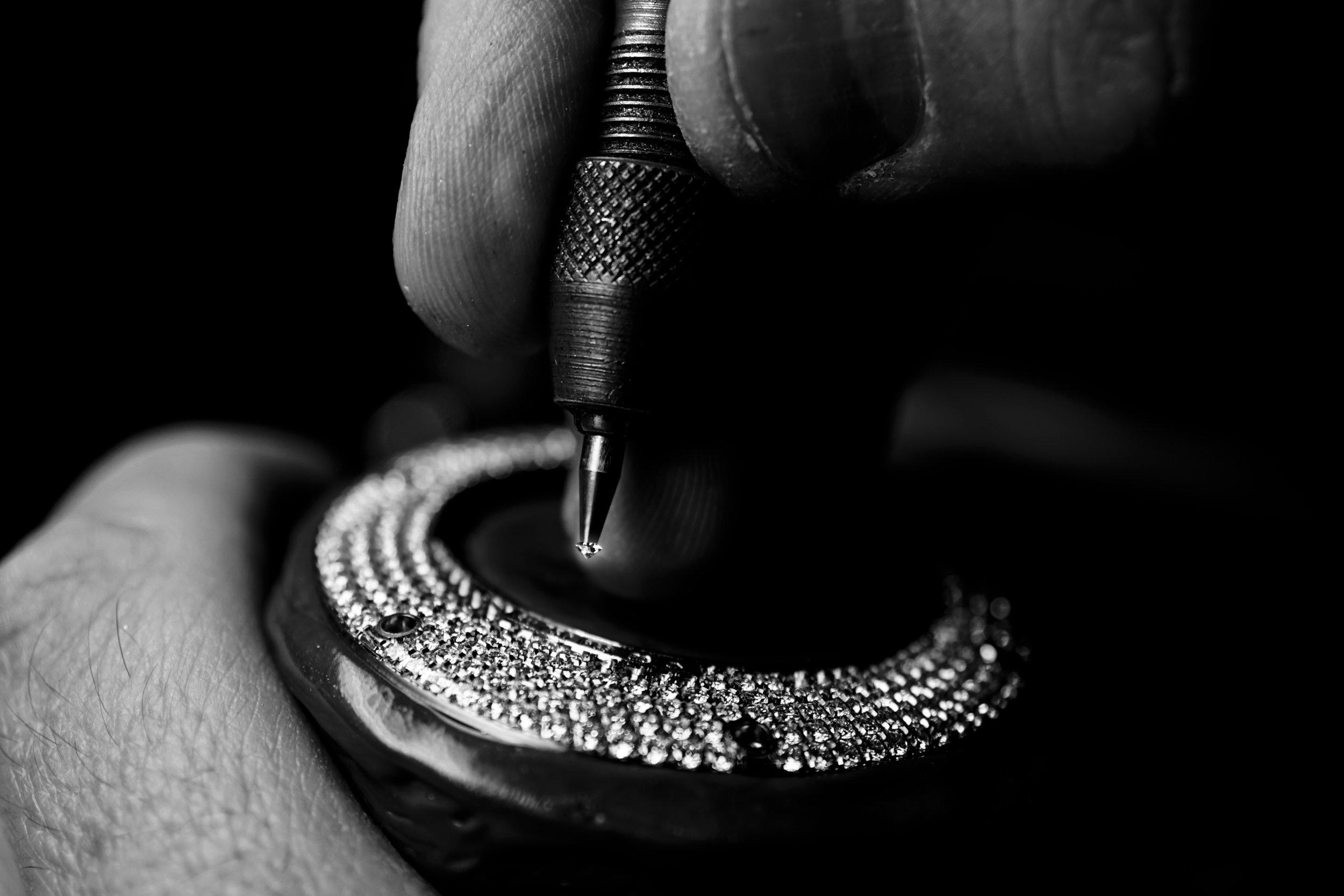 Regent Beau Brummell Tourbillon pocket Watch diamond craftsmanship