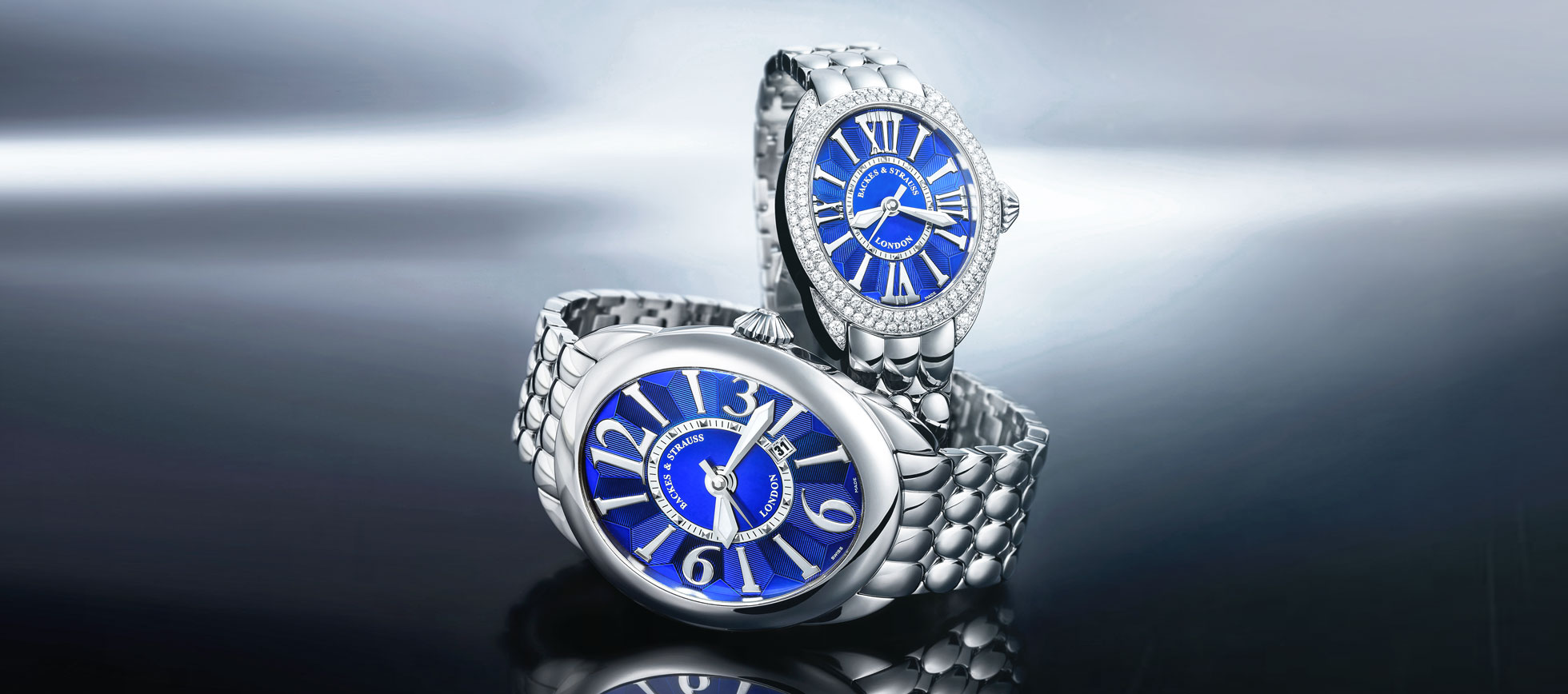 Regent Steel bespoke watch for him and her
