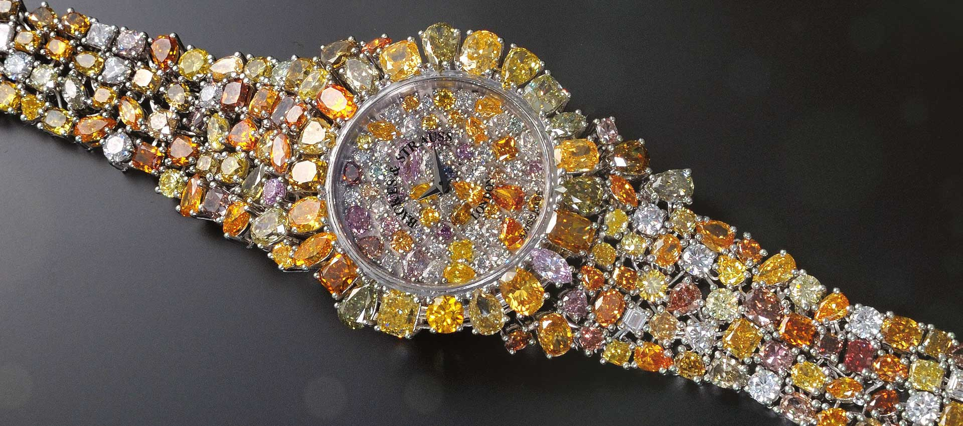 Piccadilly Princess Royal colours masterpiece watch for her