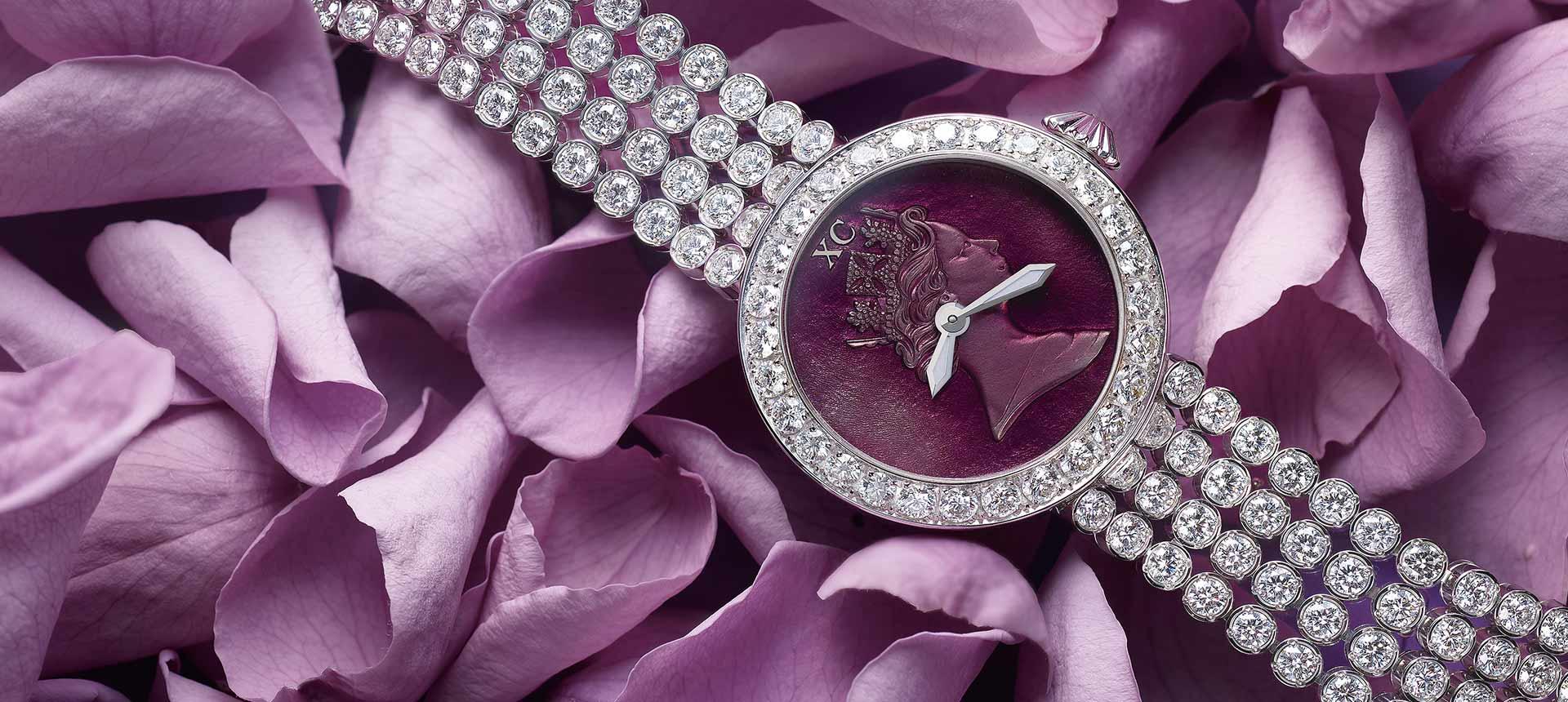 Princess Elizabeth limited edition ideal cut diamond watch for her