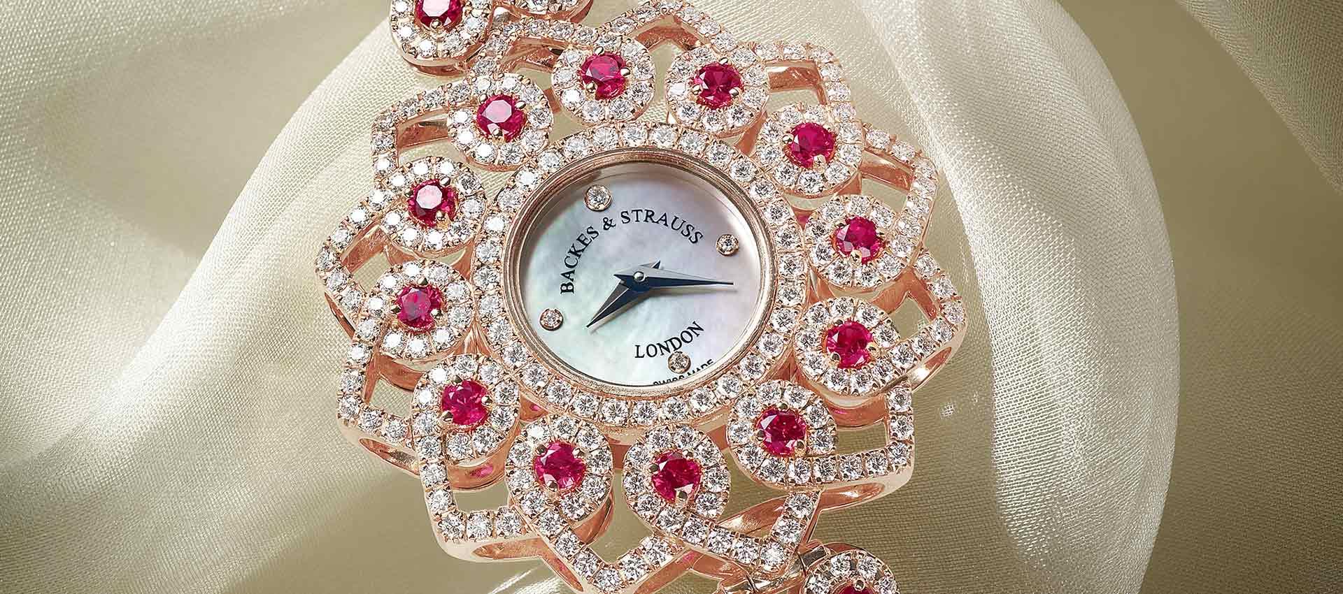 Princess Victoria diamond wristwatch for ladies