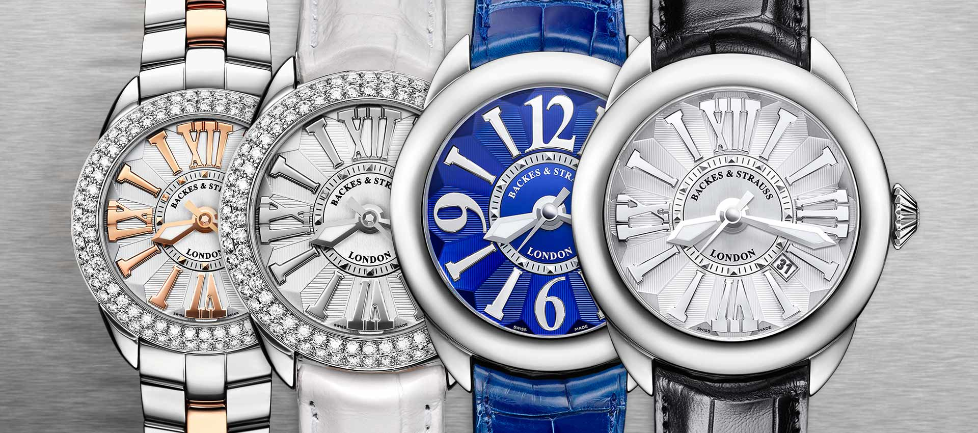 Piccadilly Steel collection for ladies and men