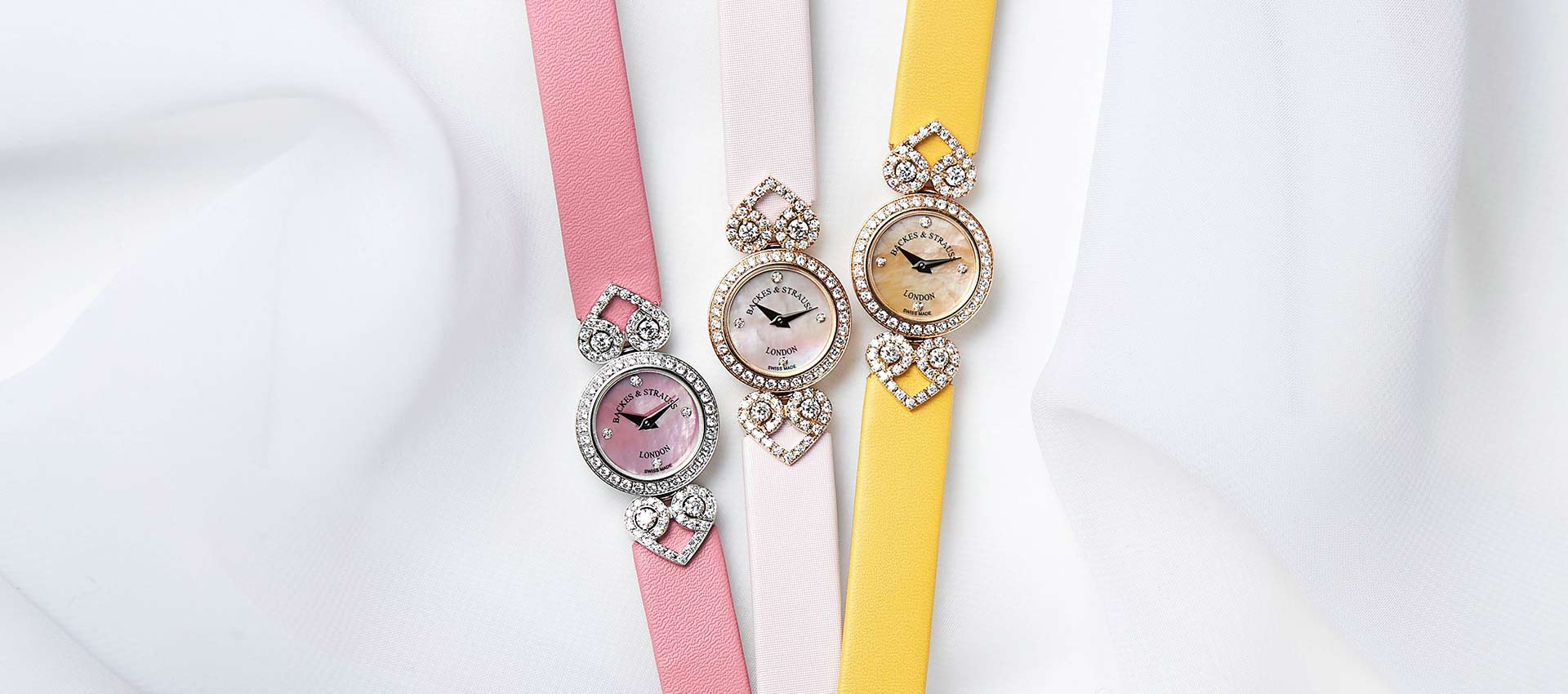 Miss Victoria collection diamond wristwatches for ladies