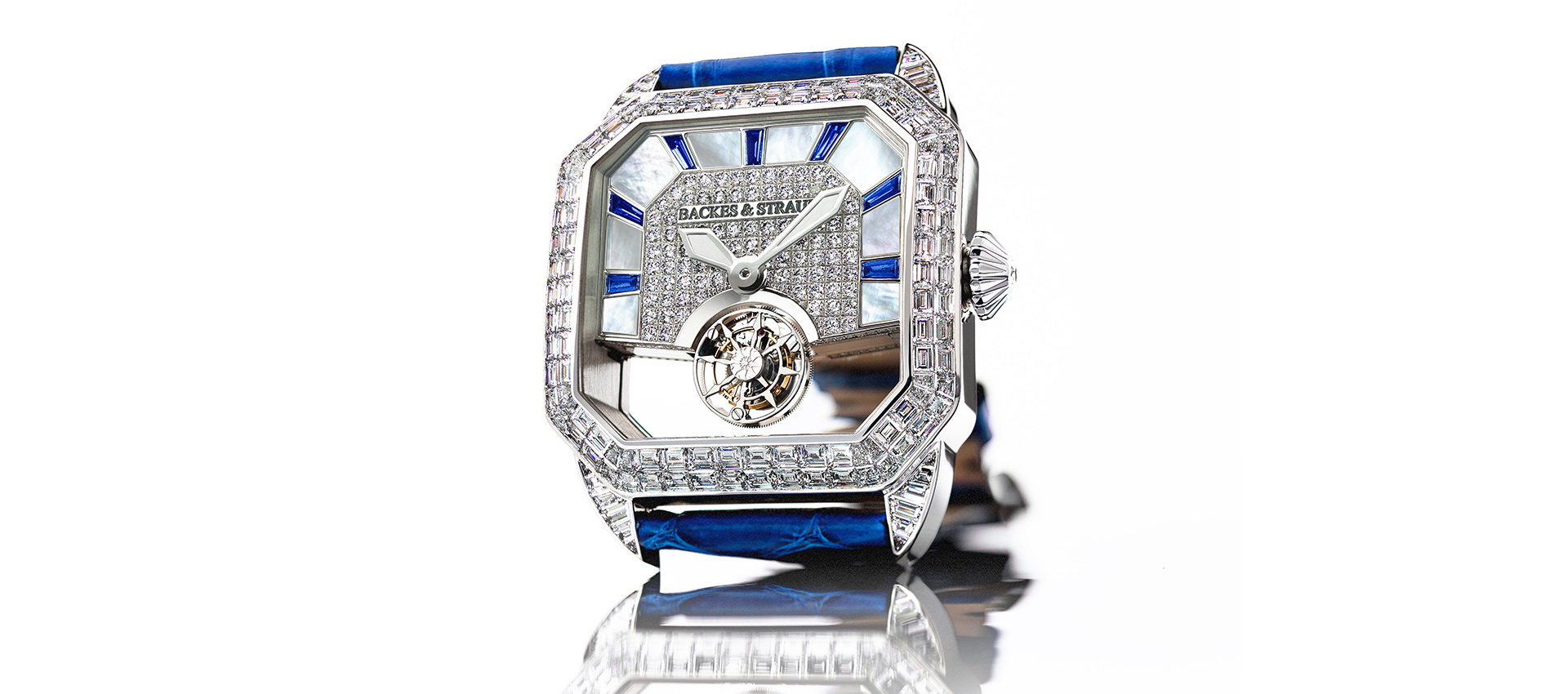 Berkeley 43 King Tourbillon diamond bespoke watch for men