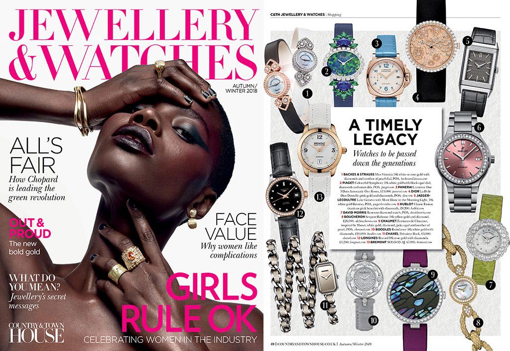 Backes & Strauss luxury watch brand