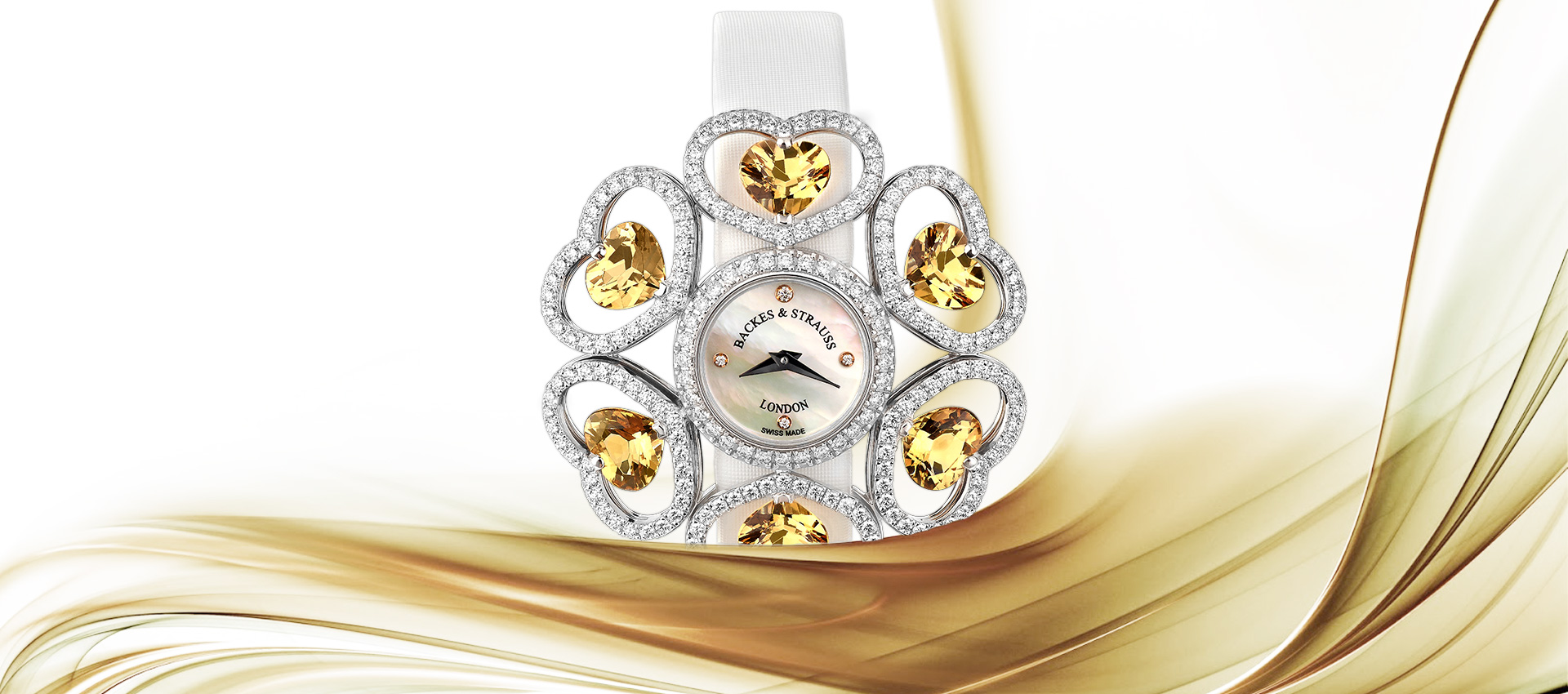 Countess Victoria diamond watch for ladies