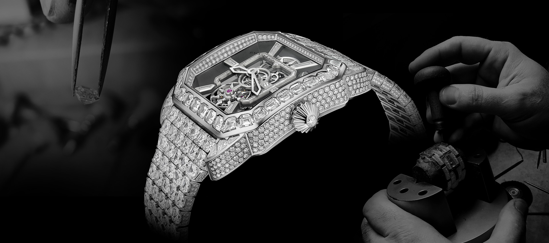 Royal Berkeley Emperor Tourbillon diamond encrusted watch