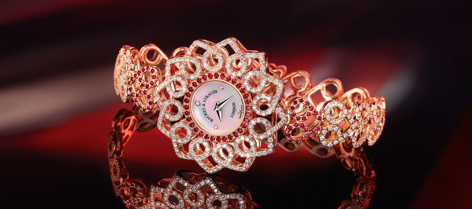 Victoria Princess diamond encrusted watch for ladies
