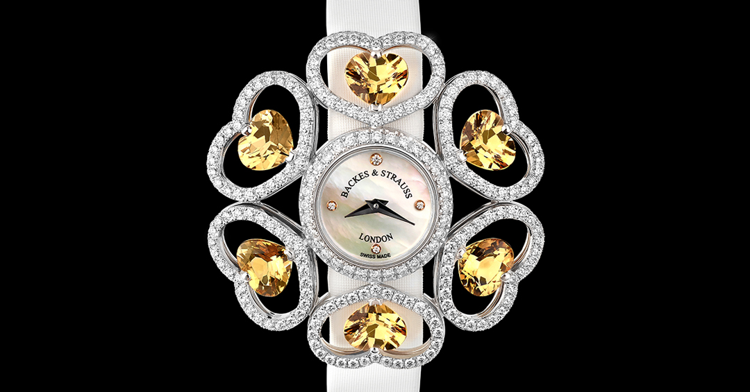 Countess Victoria diamond wristwatch for women