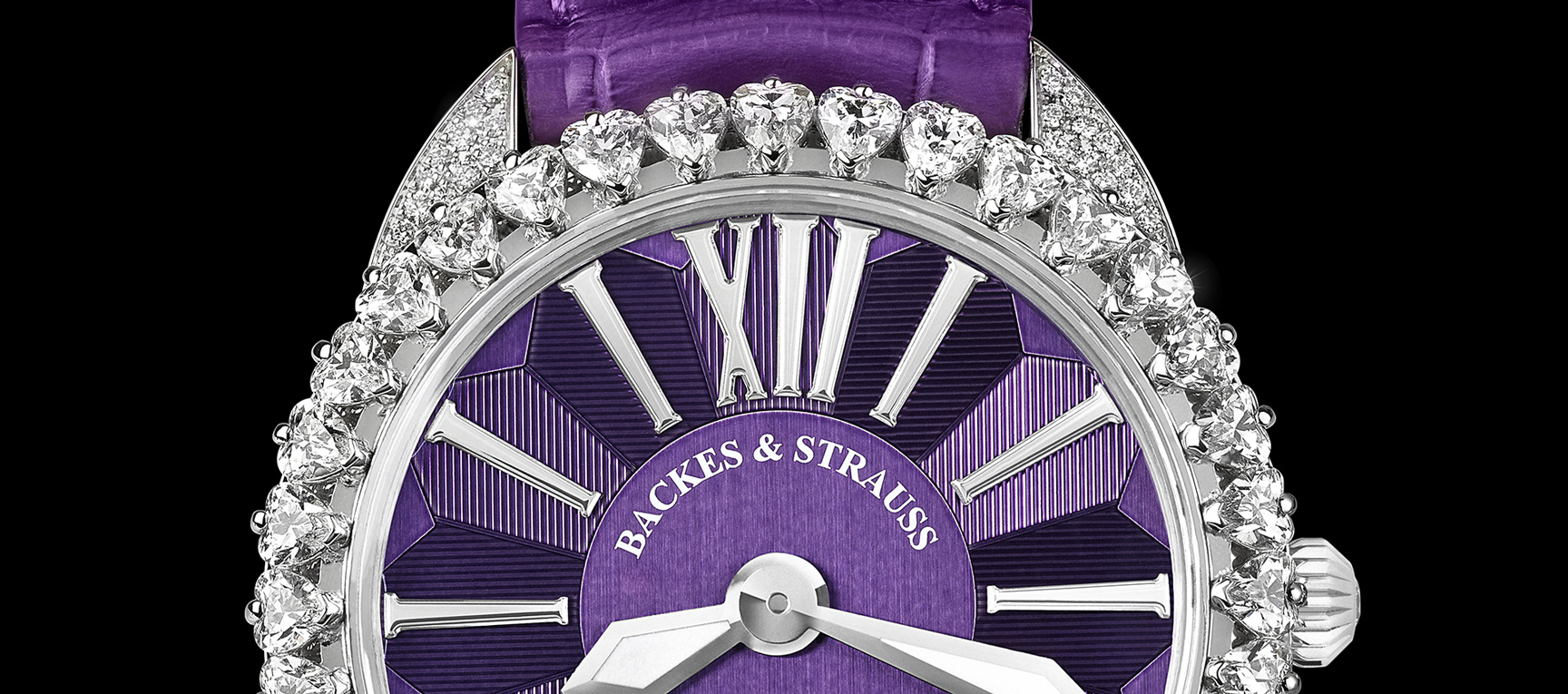 Backes & Strauss real diamond watches for men and woman