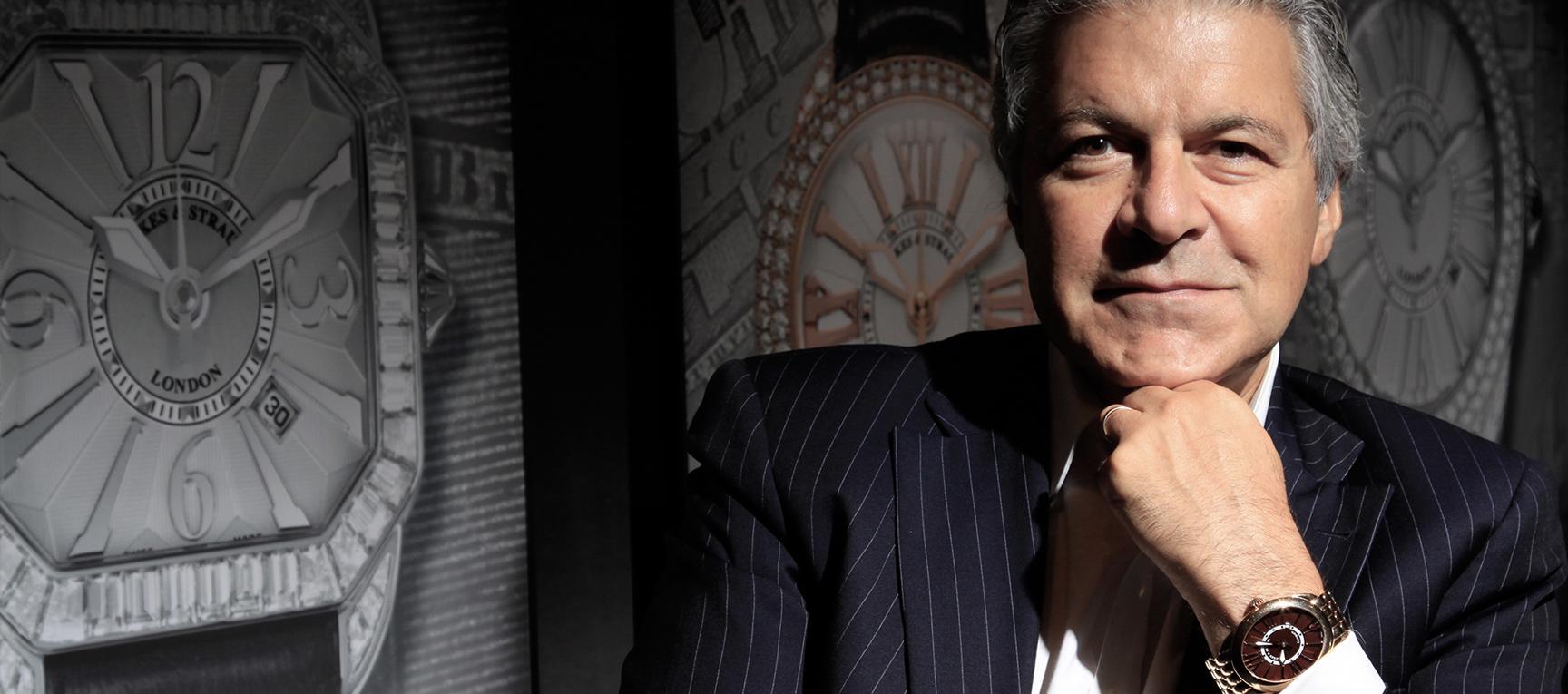 Backes & Strauss watch house CEO Vartkess Knadjian