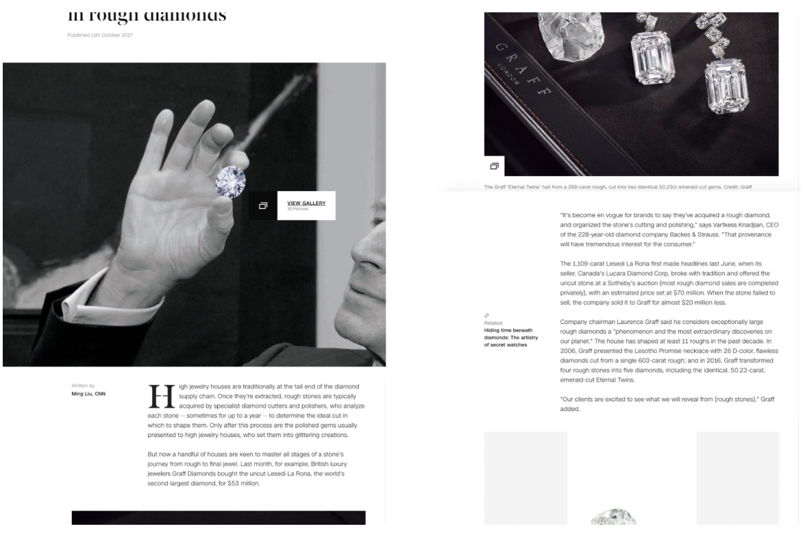 Backes & Strauss London - Masters of Diamonds