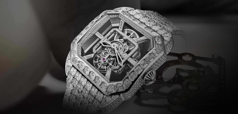 Royal Berkeley Emperor Tourbillon diamond encrusted masterpiece