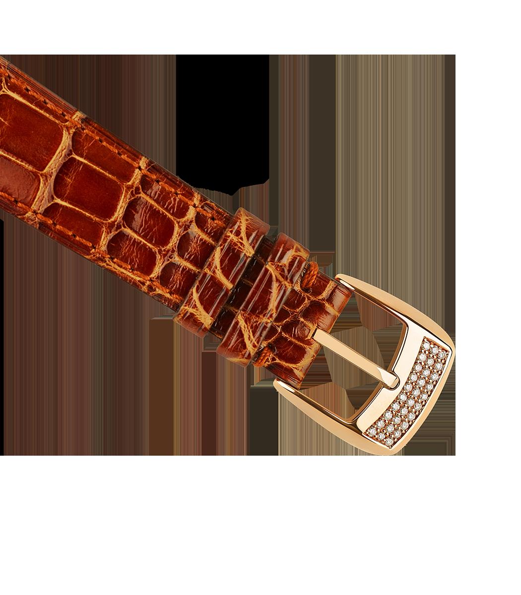Regent 1609 AD 4047 limited edition diamond watch brown alligator strap