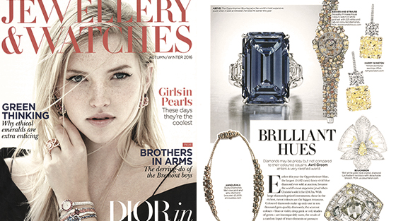 International Press Coverage on Backes & Strauss luxury watch brand