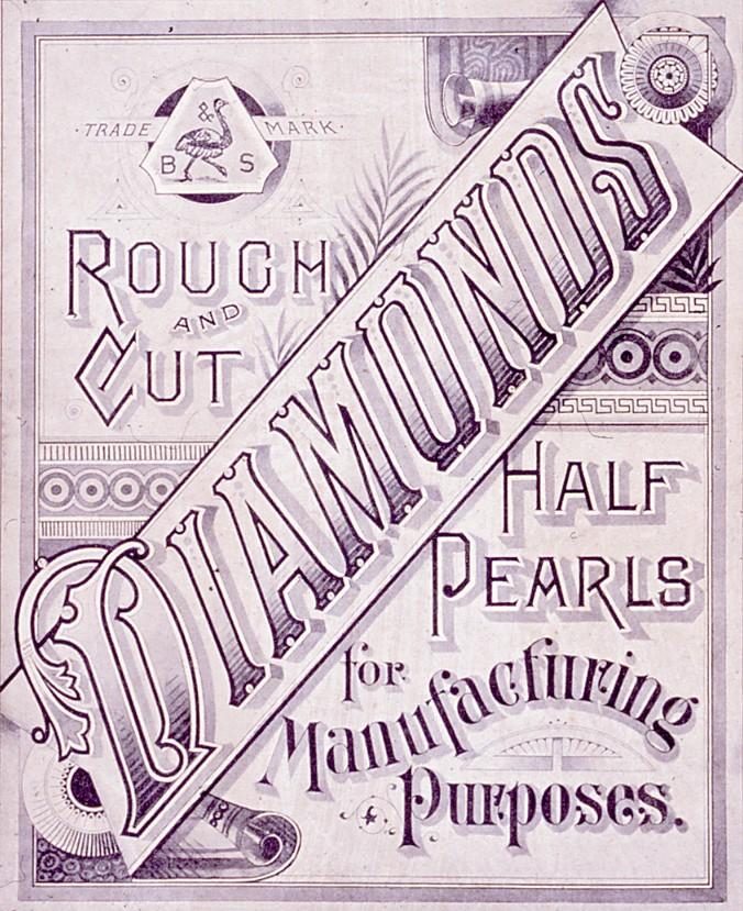Backes & Strauss diamond advertising