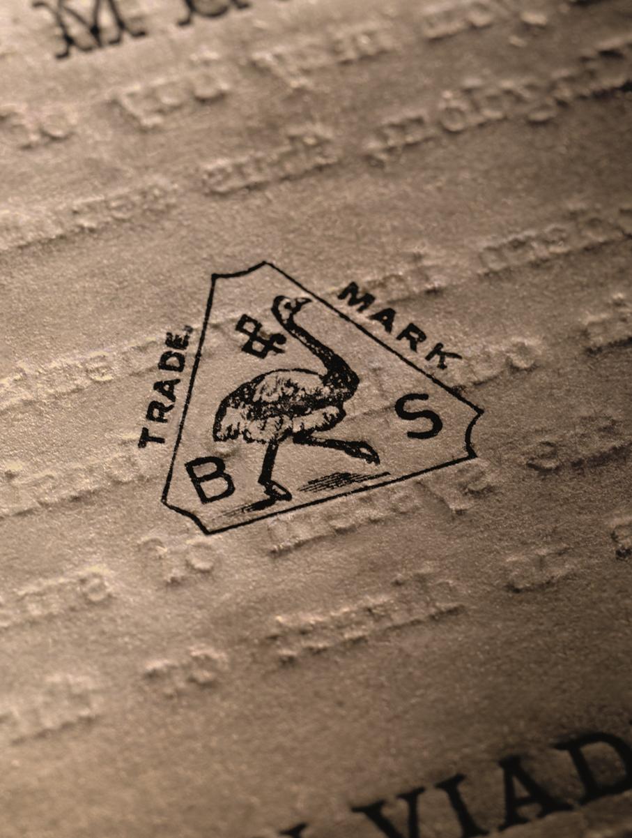 Backes & Strauss first trademark
