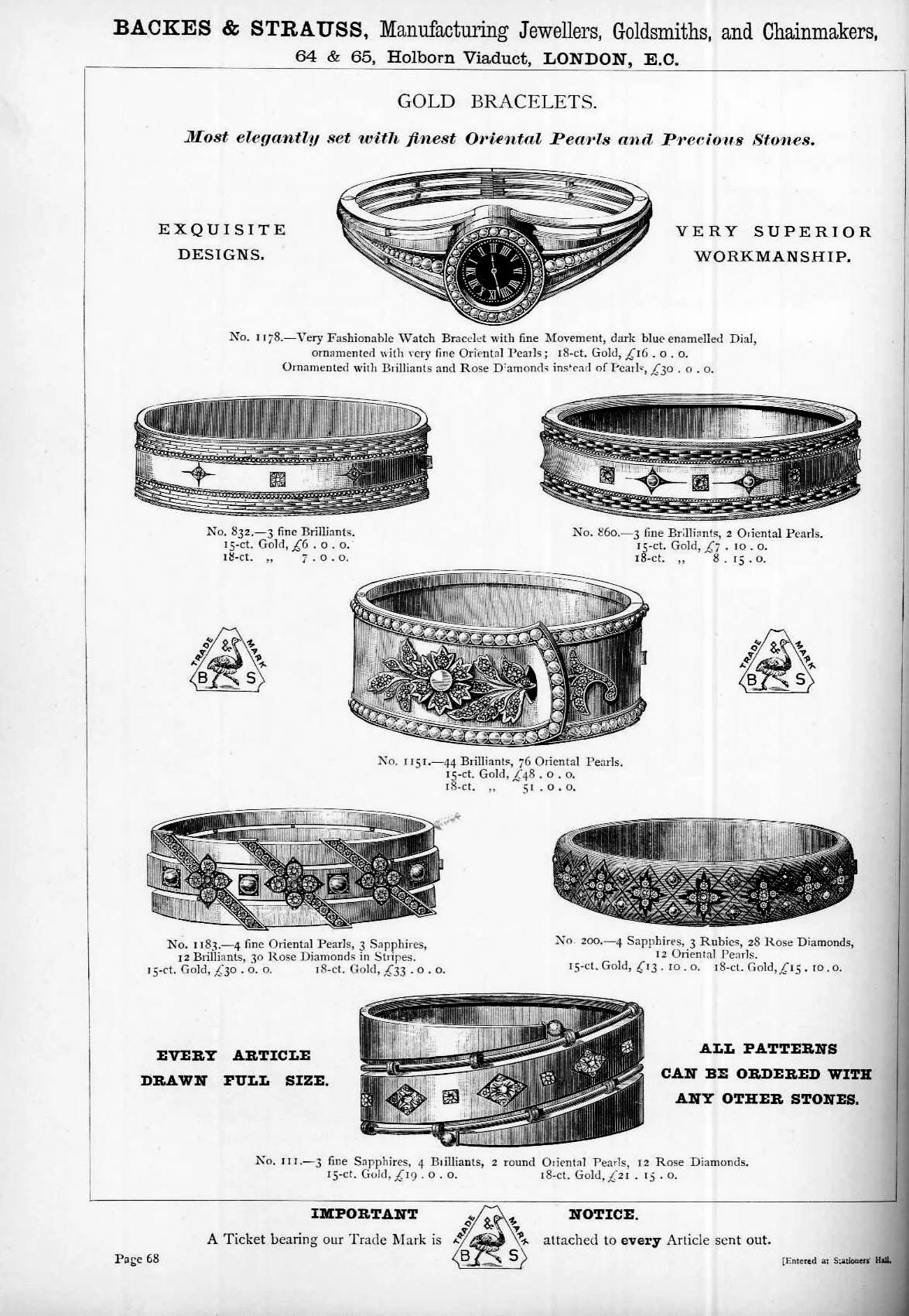 Backes & Strauss Jewellery Watch Catalogue