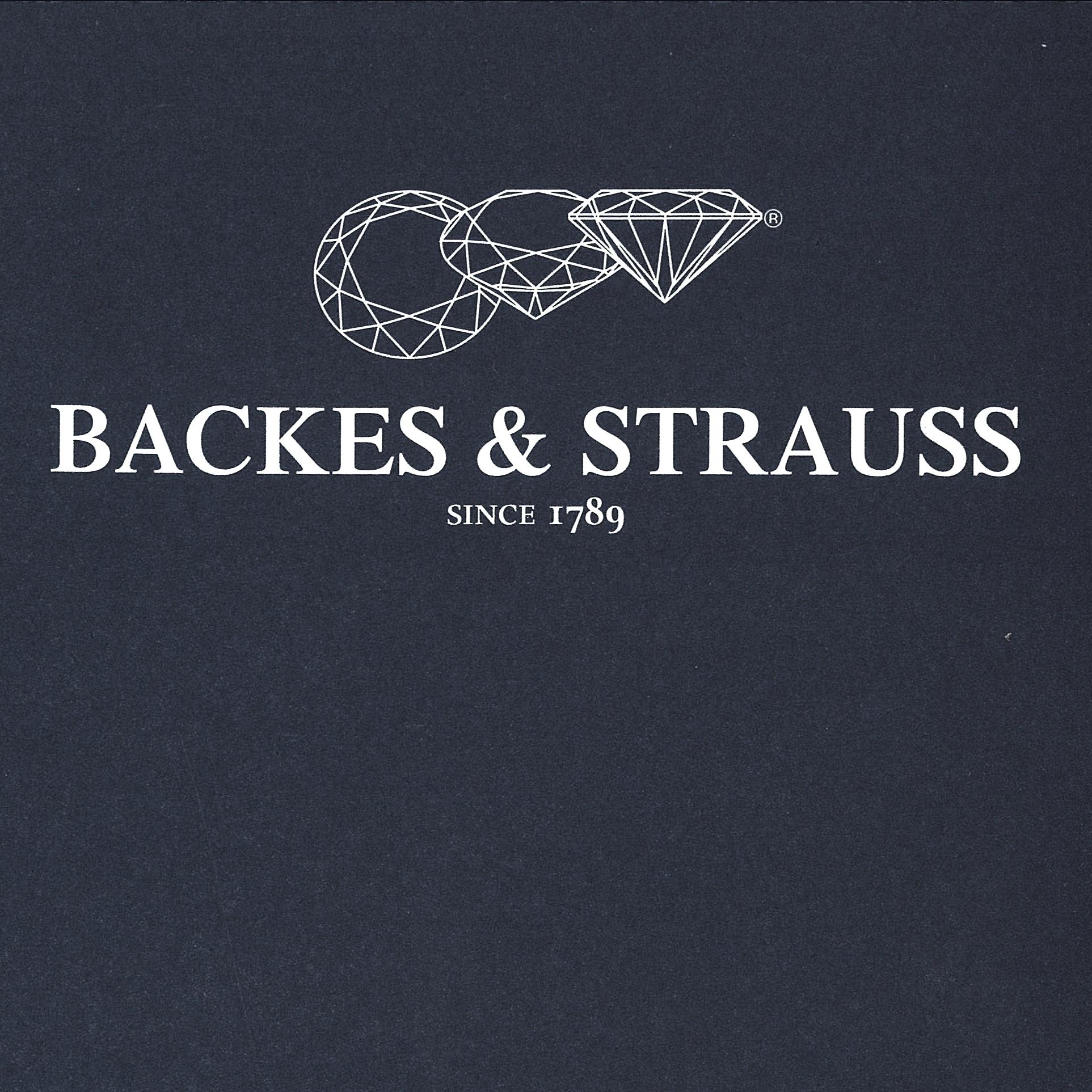 Backes & Strauss diamond manufacturer trademark