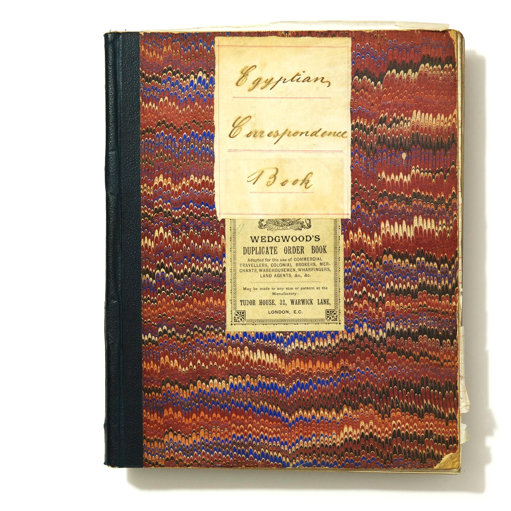 Backes & Strauss Egyptian Correspondence Book