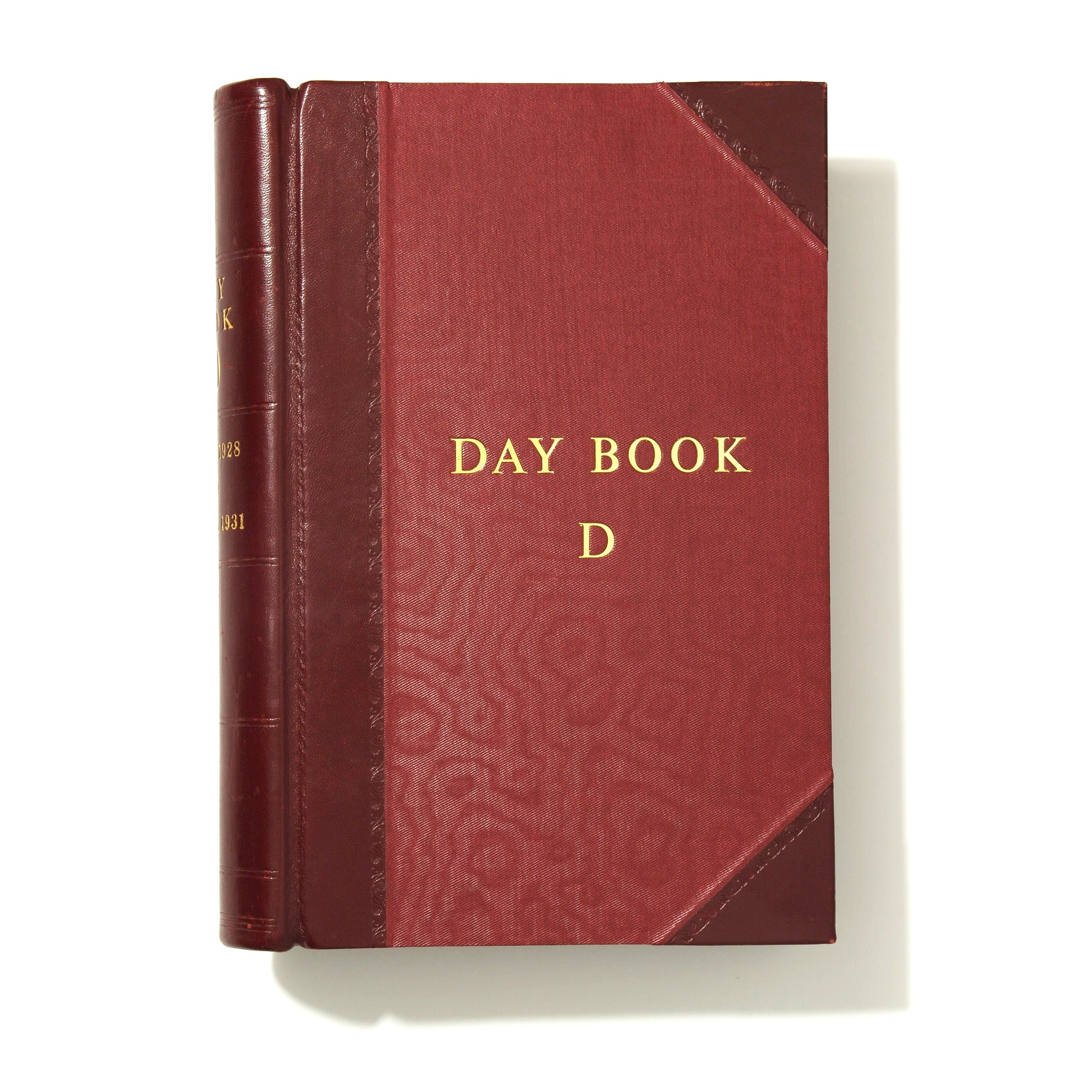 Backes & Strauss Daybook with diamond records