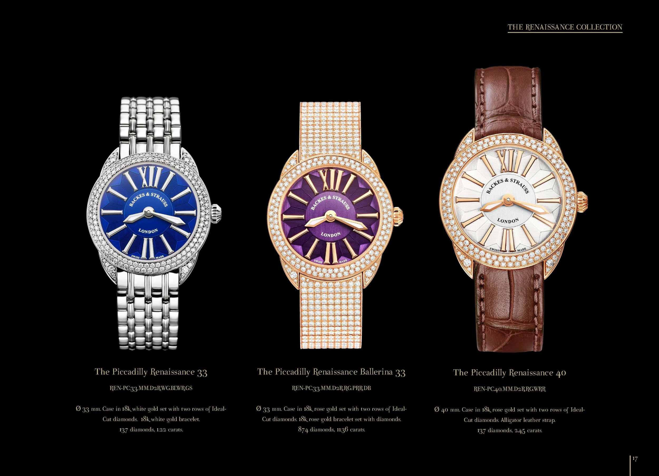 Piccadilly Renaissance watch