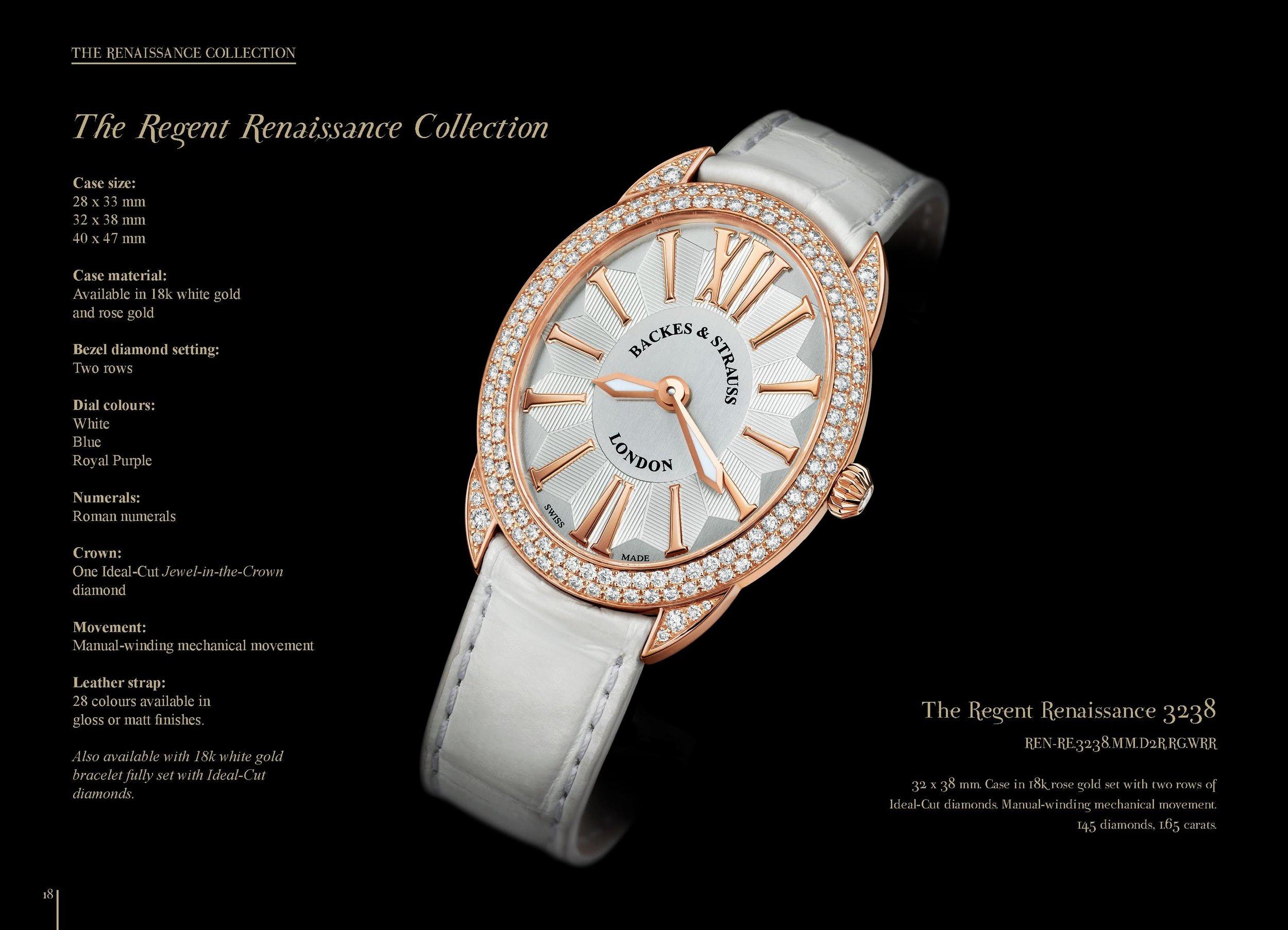 Regent Renaissance 3238 watch