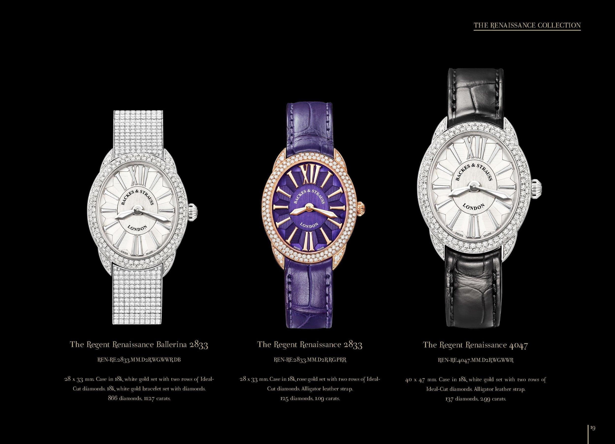 Regent Renaissance collection watch