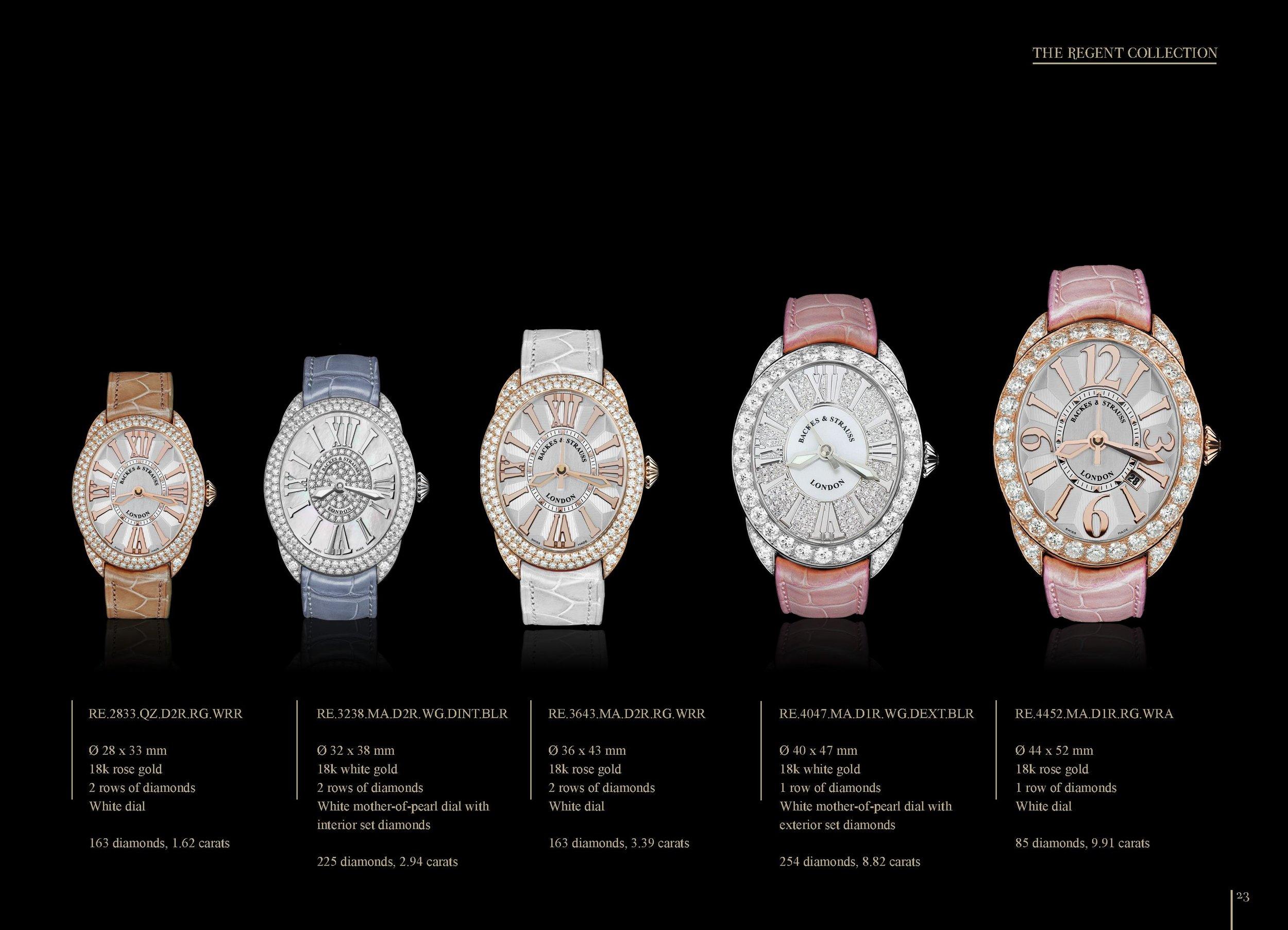 The Regent diamond case collection