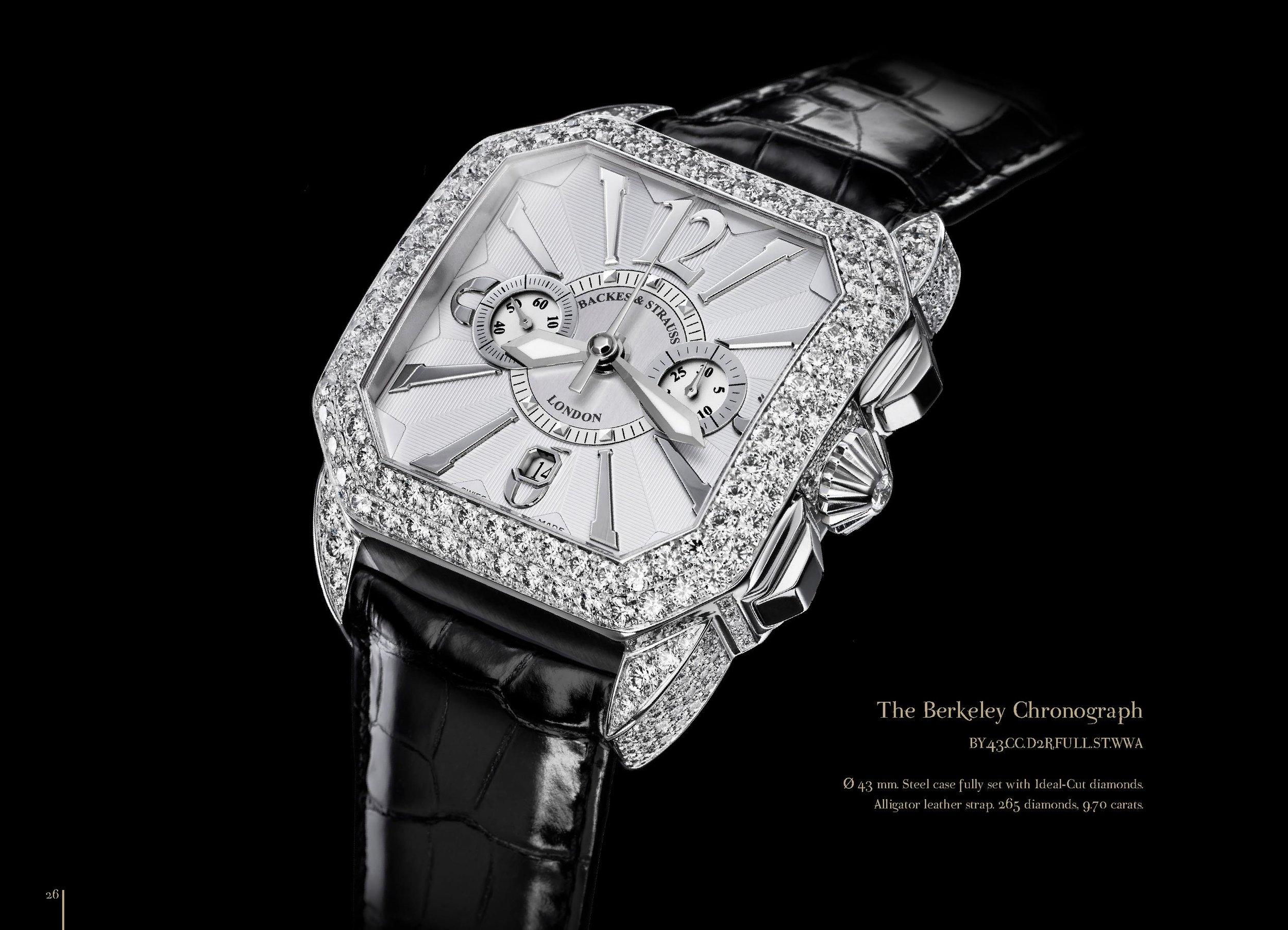 Berkeley Chronograph Steel 43 watch