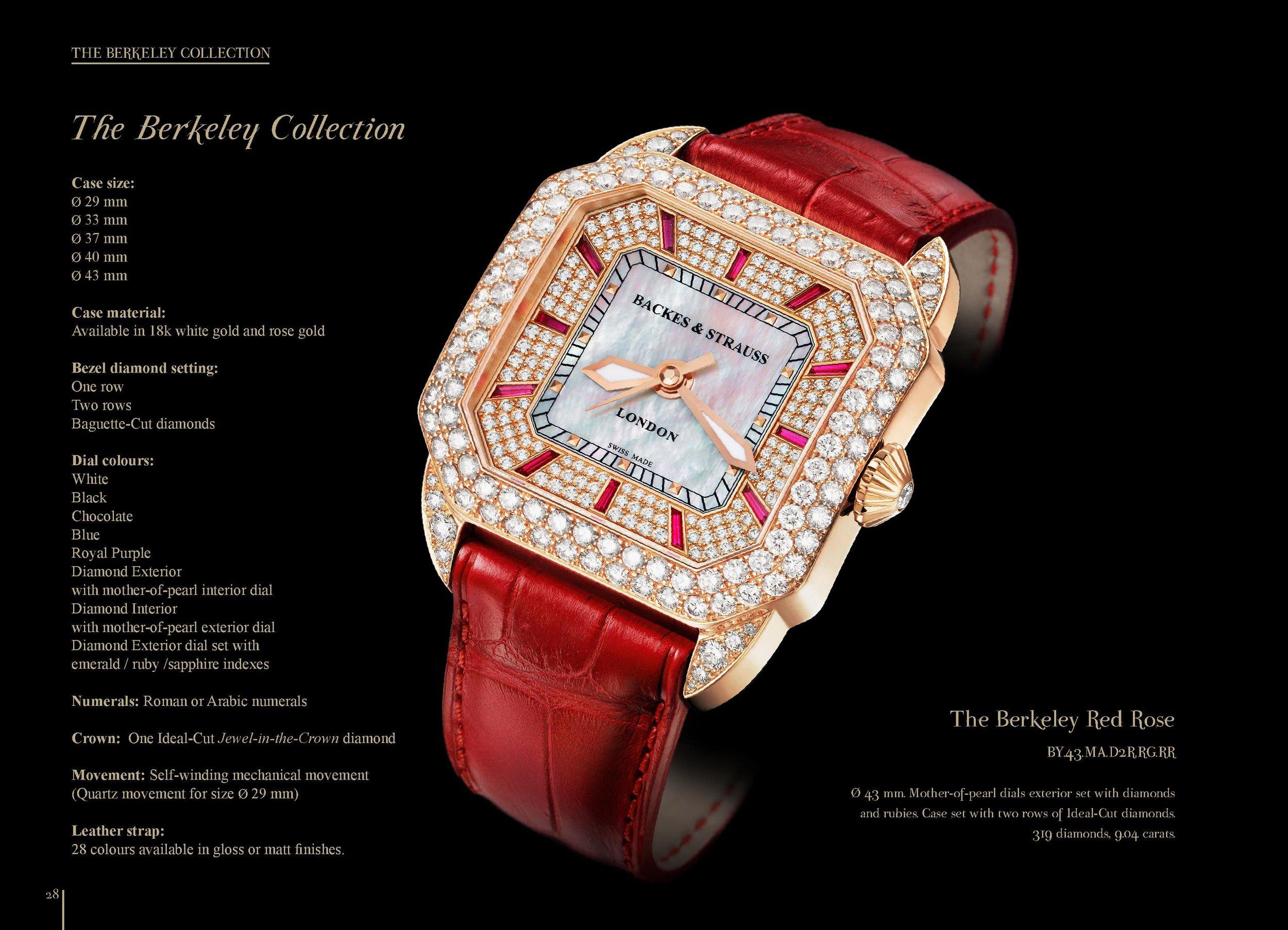 Berkeley diamond watch collection