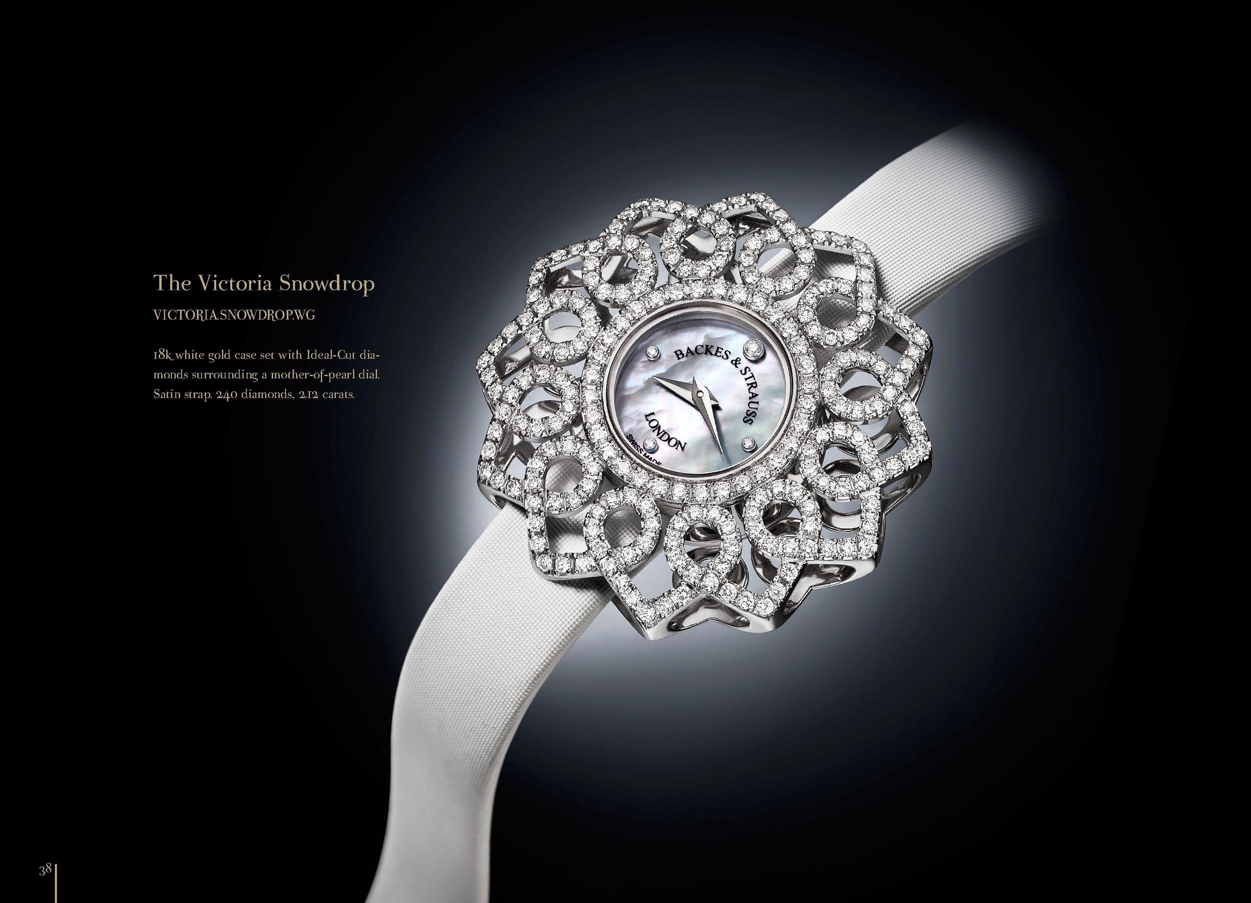 Victoria Snowdrop watch