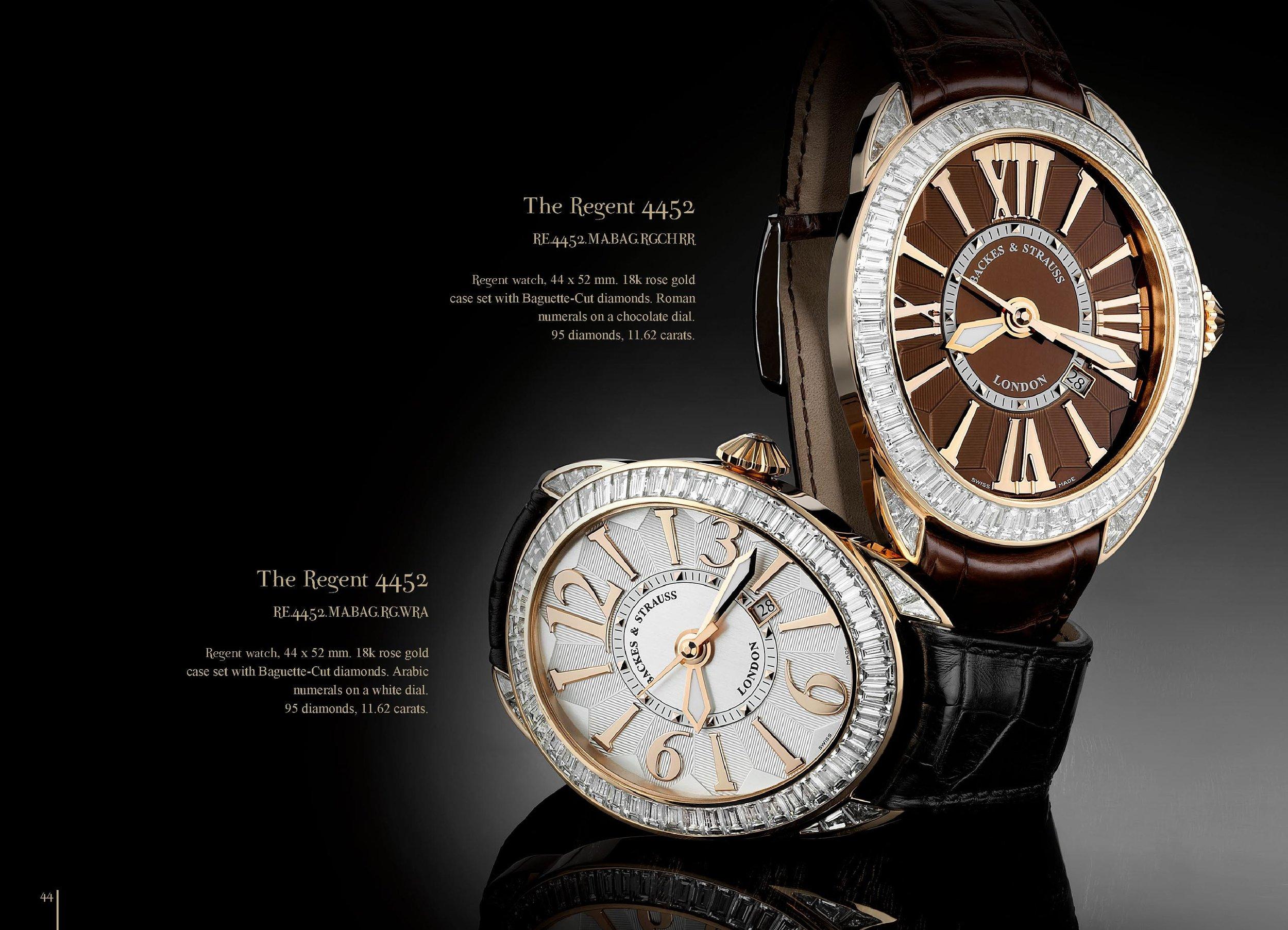Regent 4452 diamond watch