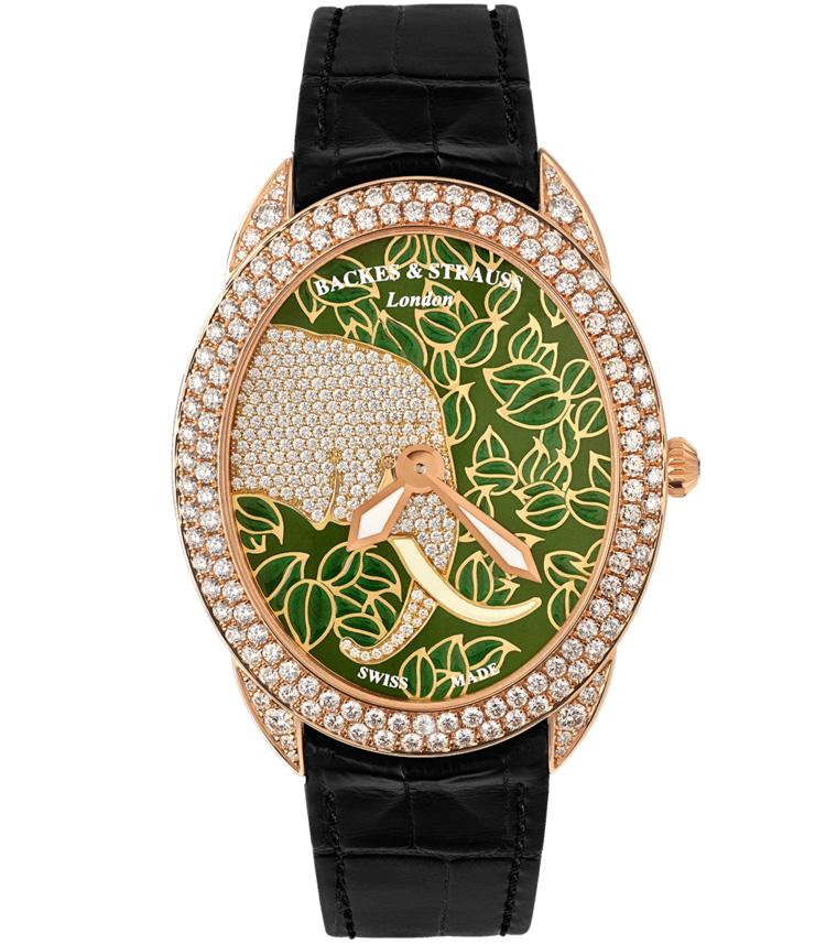 Tears of African Elephant 4047 diamond watch