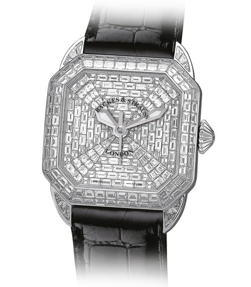 Berkeley Prince 43 diamond wristwatch for women and men