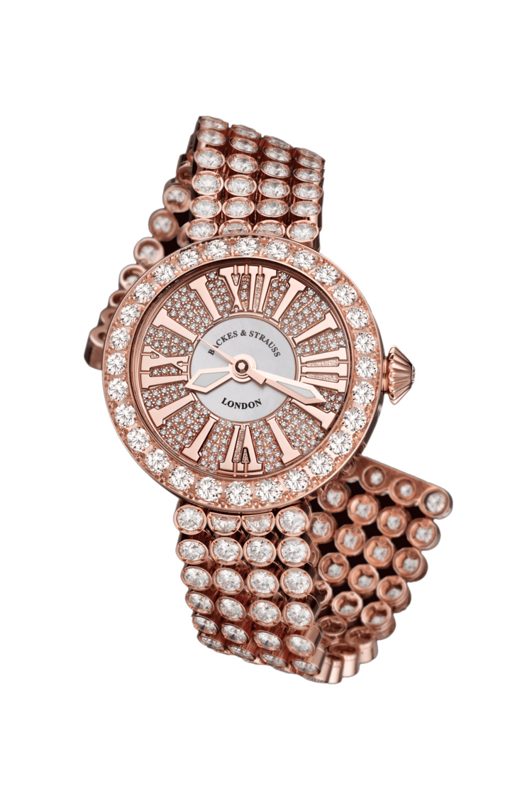 Piccadilly Princess 37 diamond encrusted watch for women
