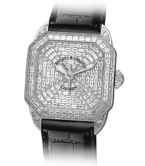 Berkeley Prince 43 iconic diamond watch