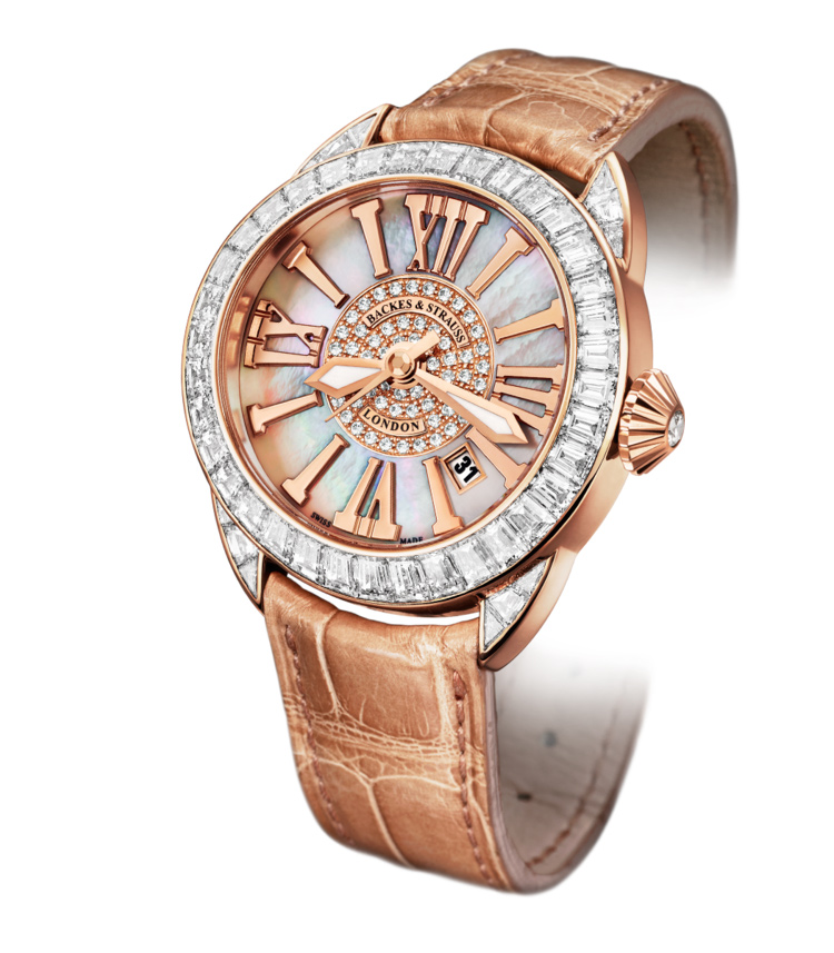 Piccadilly Baguette 40 Dint iconic diamond watch